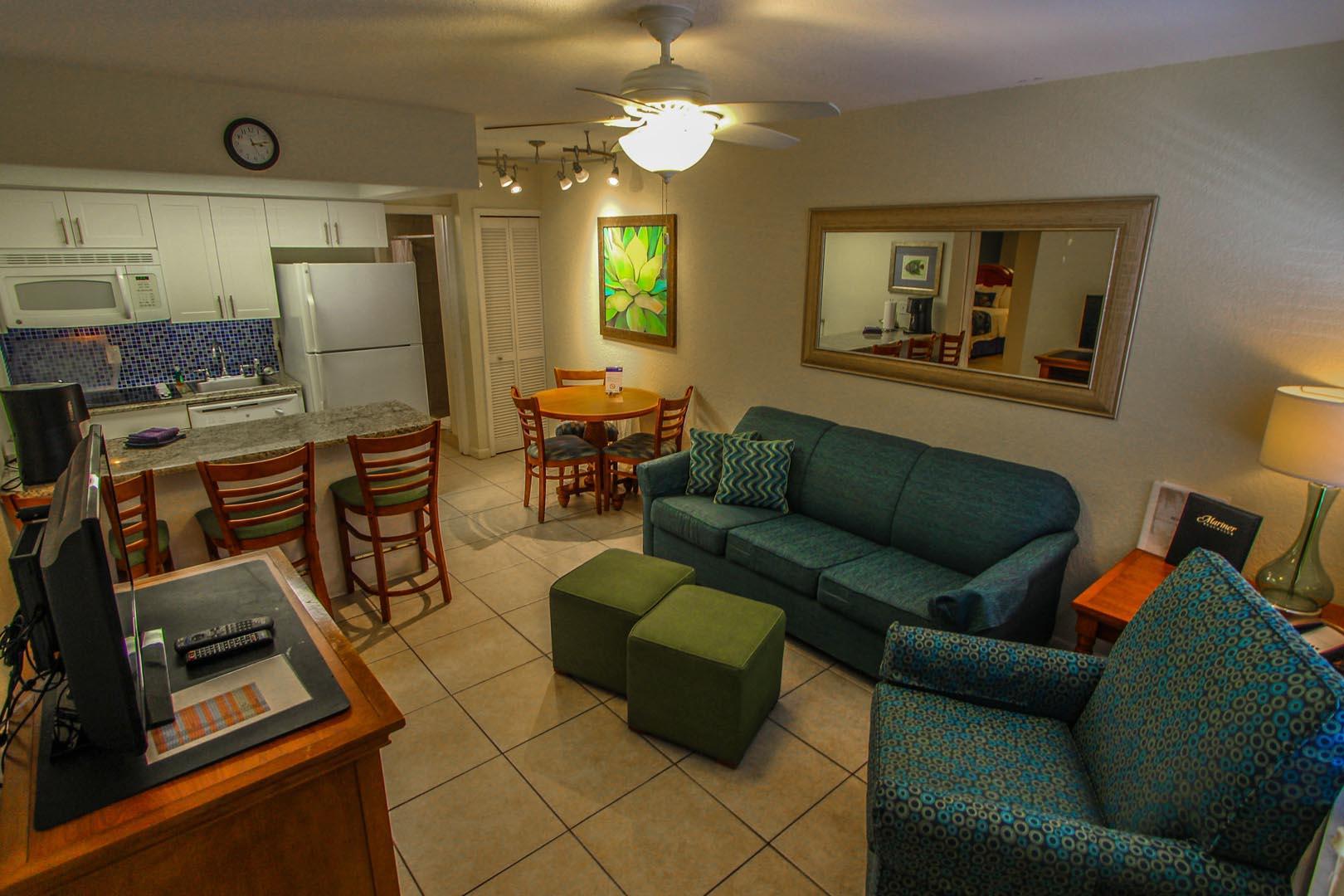 Mariner Beach Club unit interior