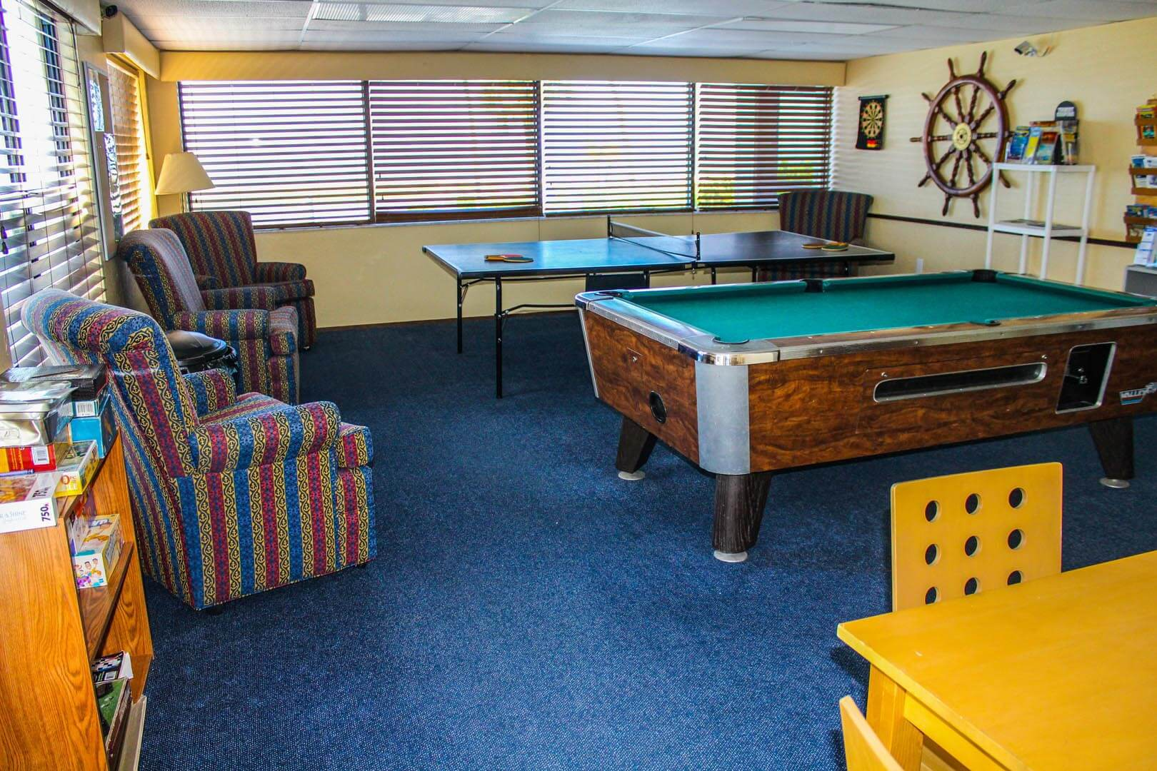 Mariner Boat House Game Room