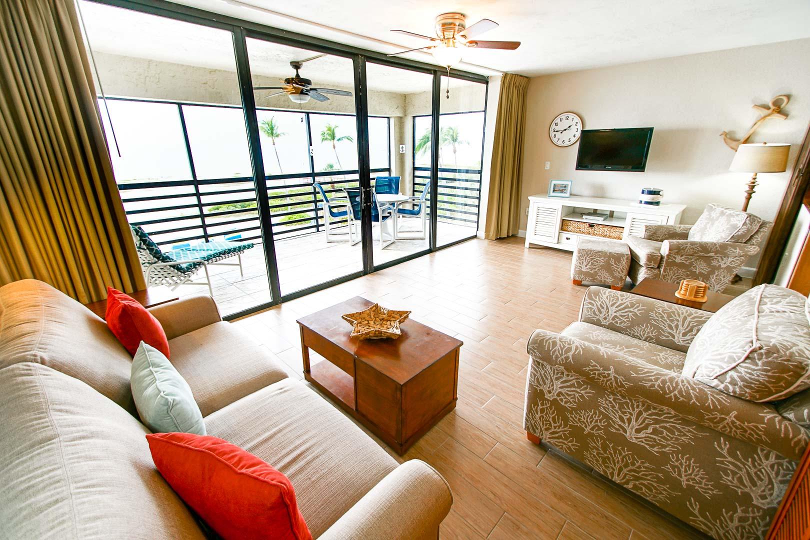 Mariner's Boathouse - Unit Interior - Living Room