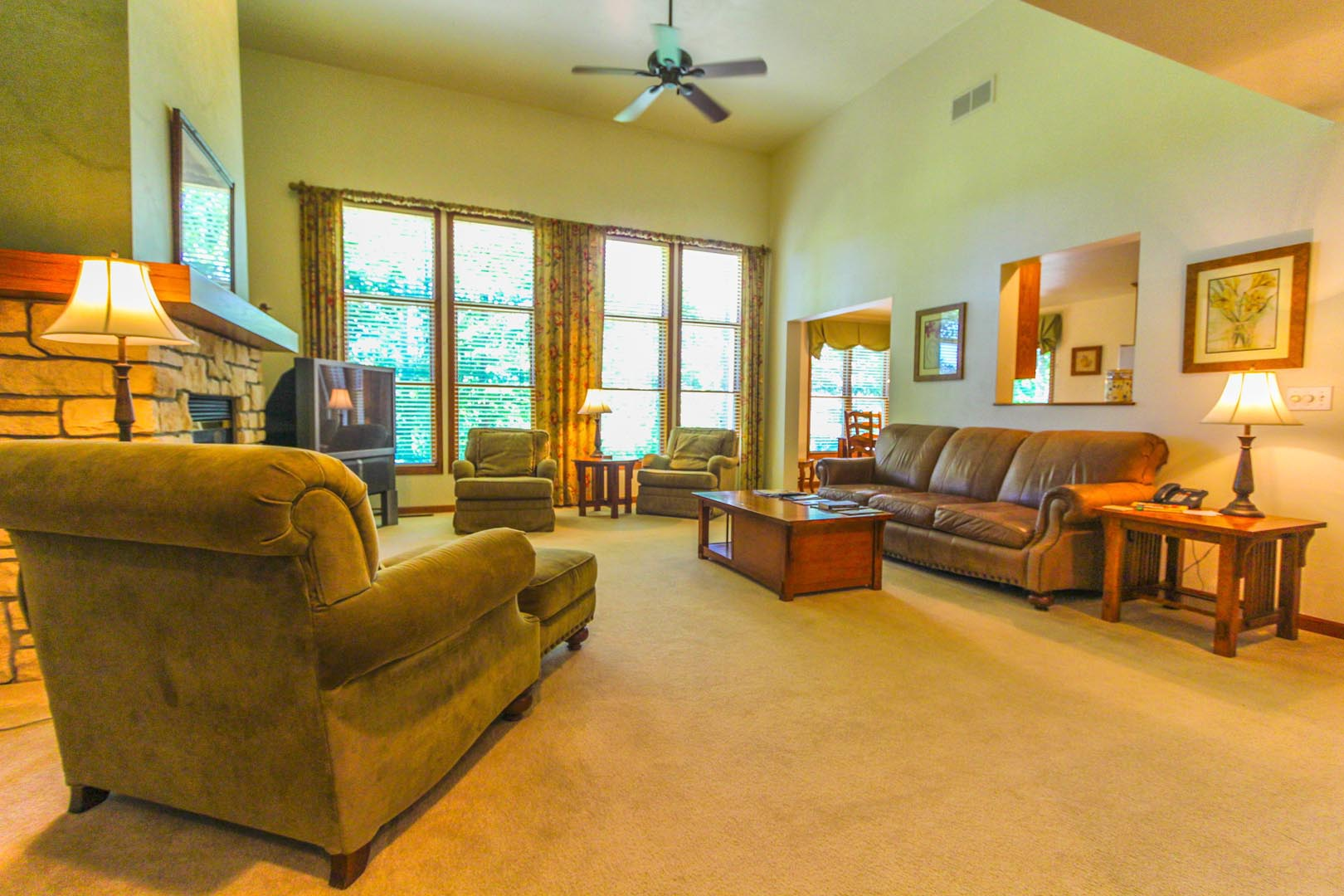 Meadow Ridge Resort Living Room