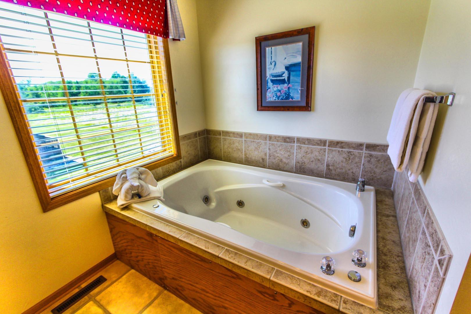 Meadow Ridge Resort Bathroom