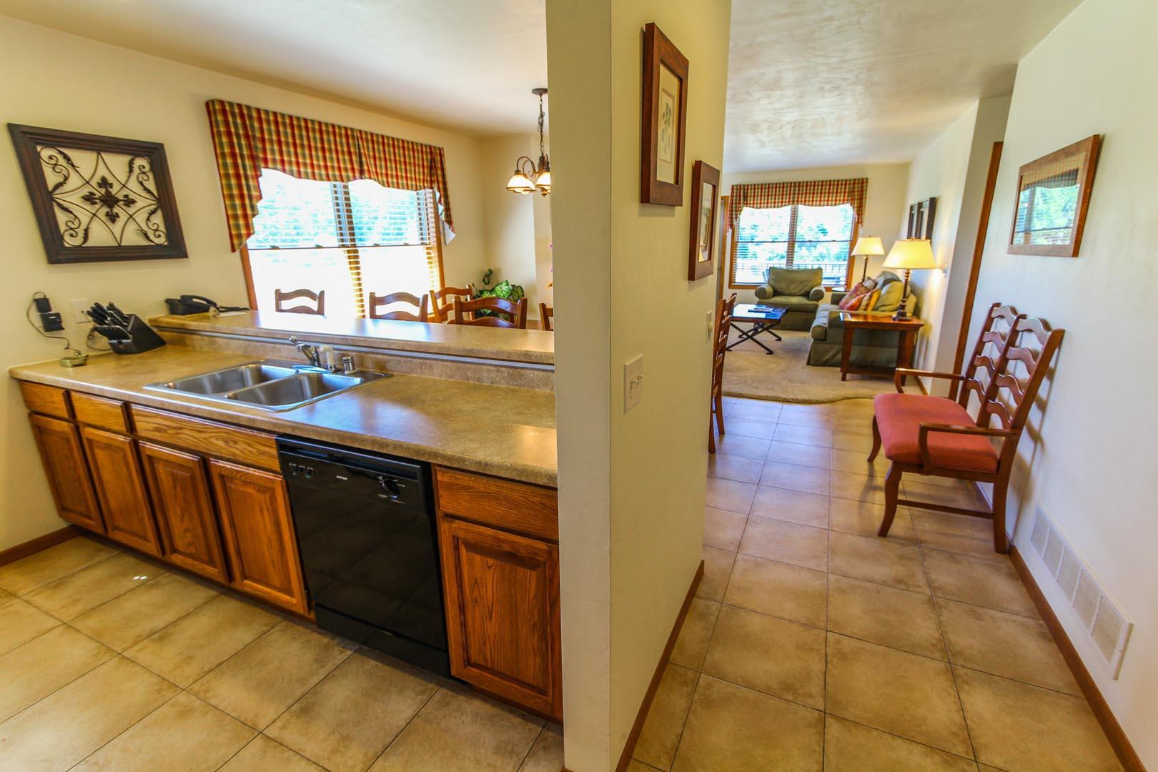Meadow Ridge Resort Kitchen