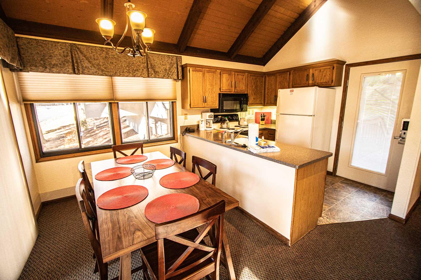 Mountain Loft Dining Room
