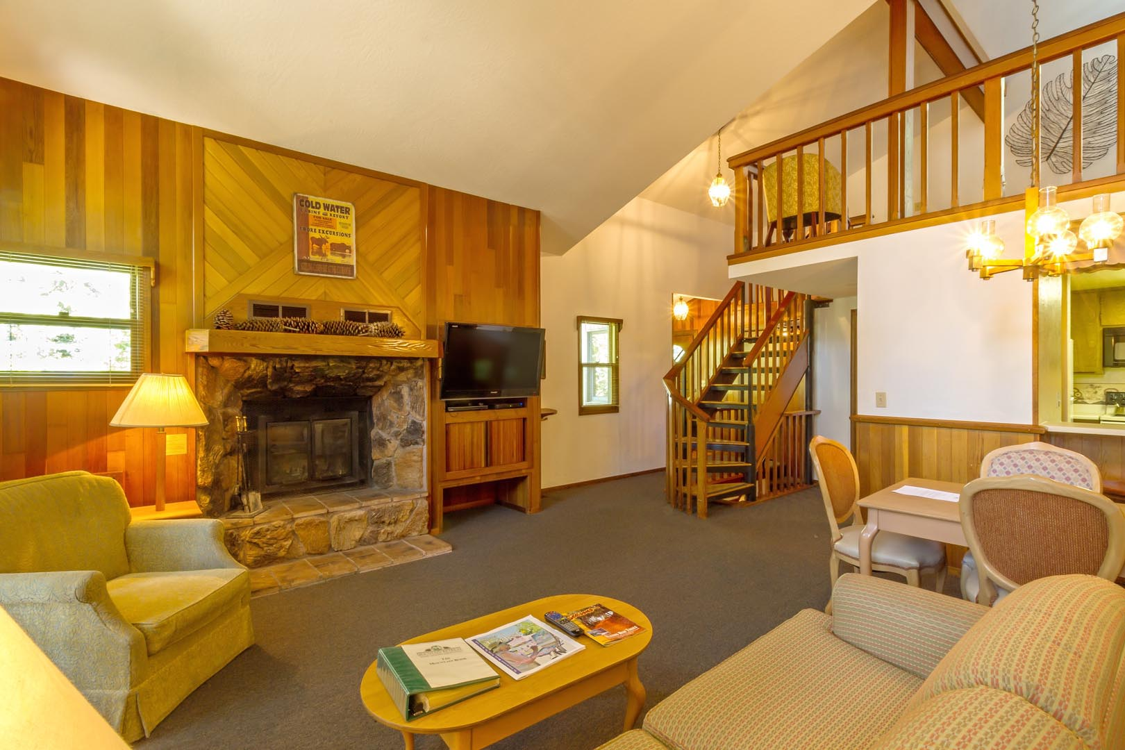 Mountain Retreat Resort Common Area