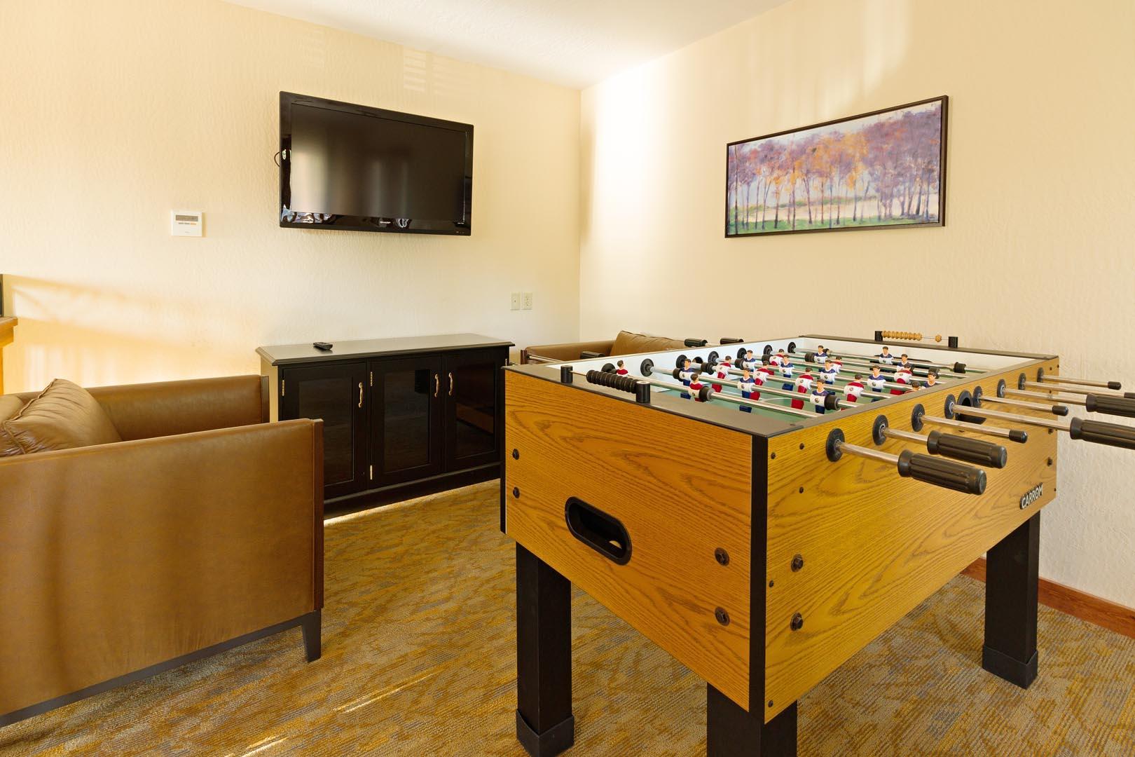 Fun amenities available at VRI's Mountain Retreat Resort in California.