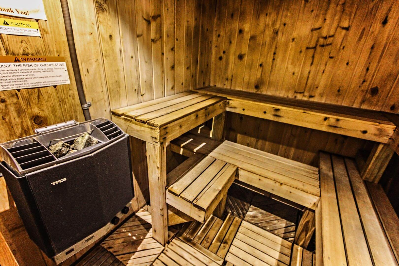 Mountainside Resort At Stowe Sauna