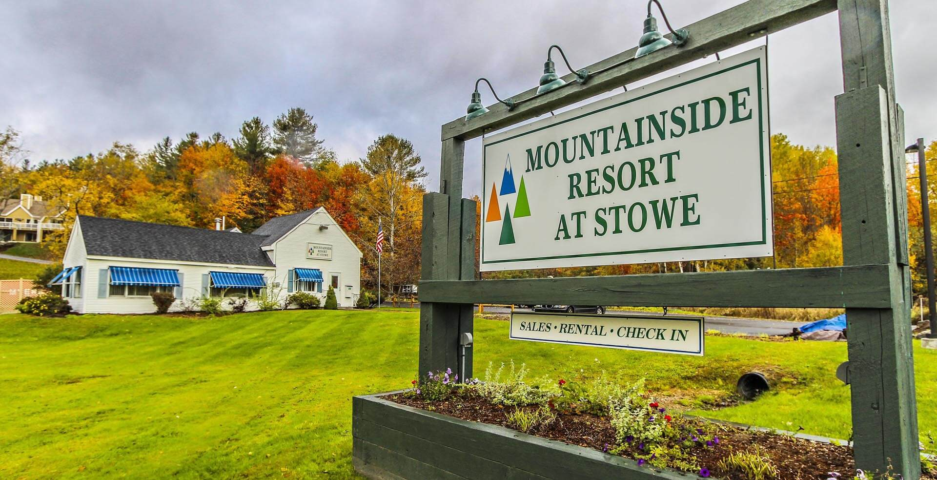 Mountainside Resort At Stowe Signage