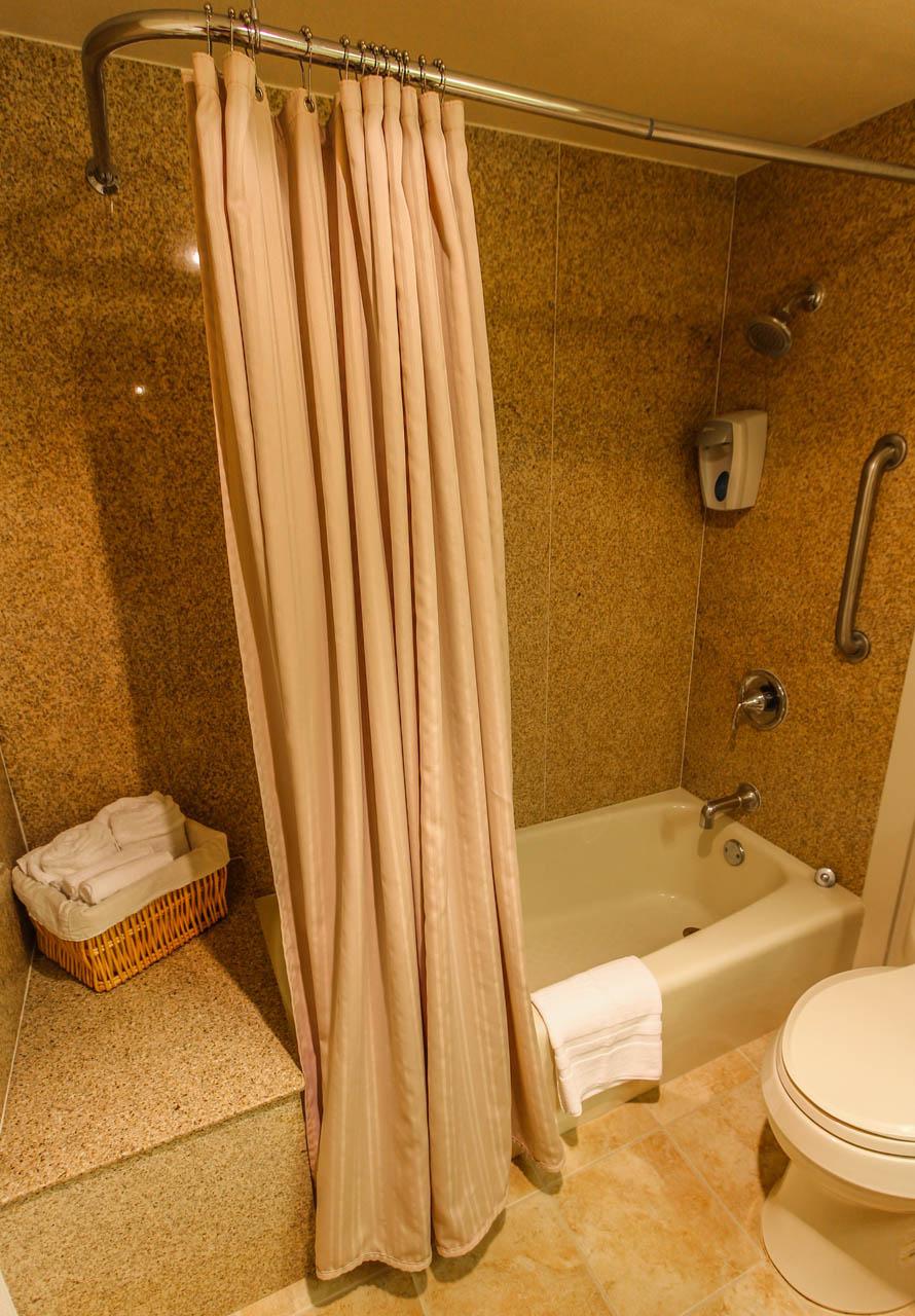 Pacific Grove Plaza Bathroom