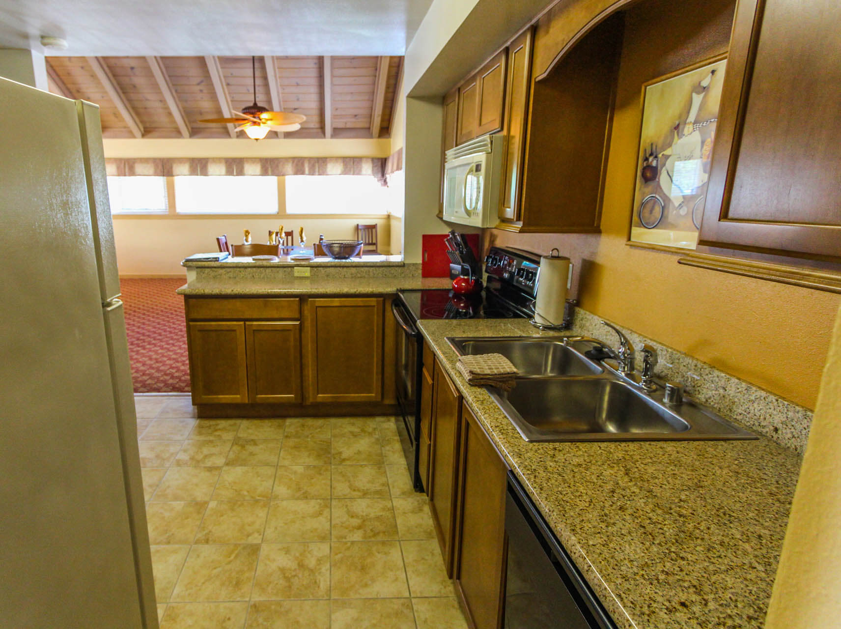 Pacific Grove Plaza Kitchen