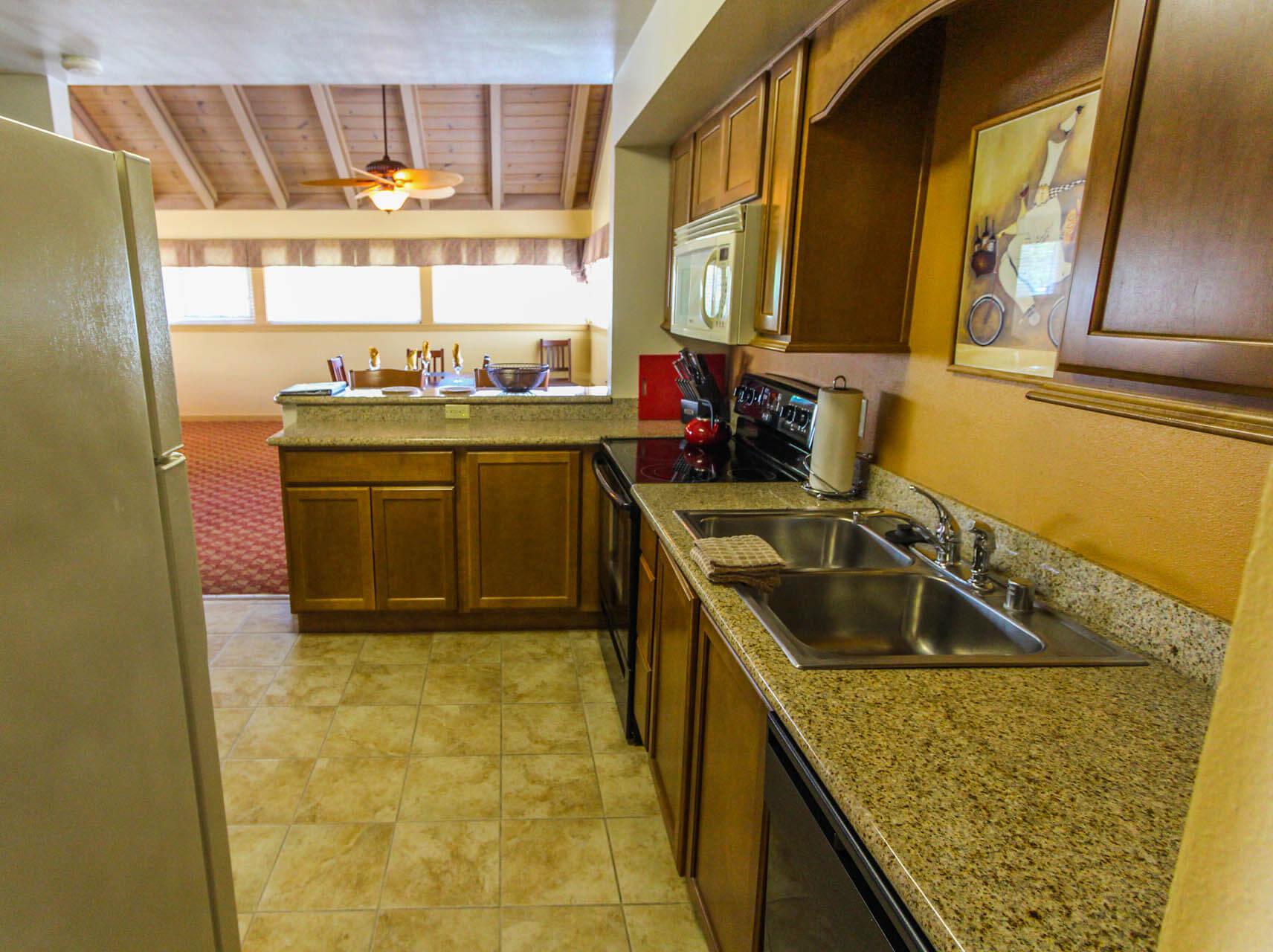 Pacific Grove Plaza Kitchen