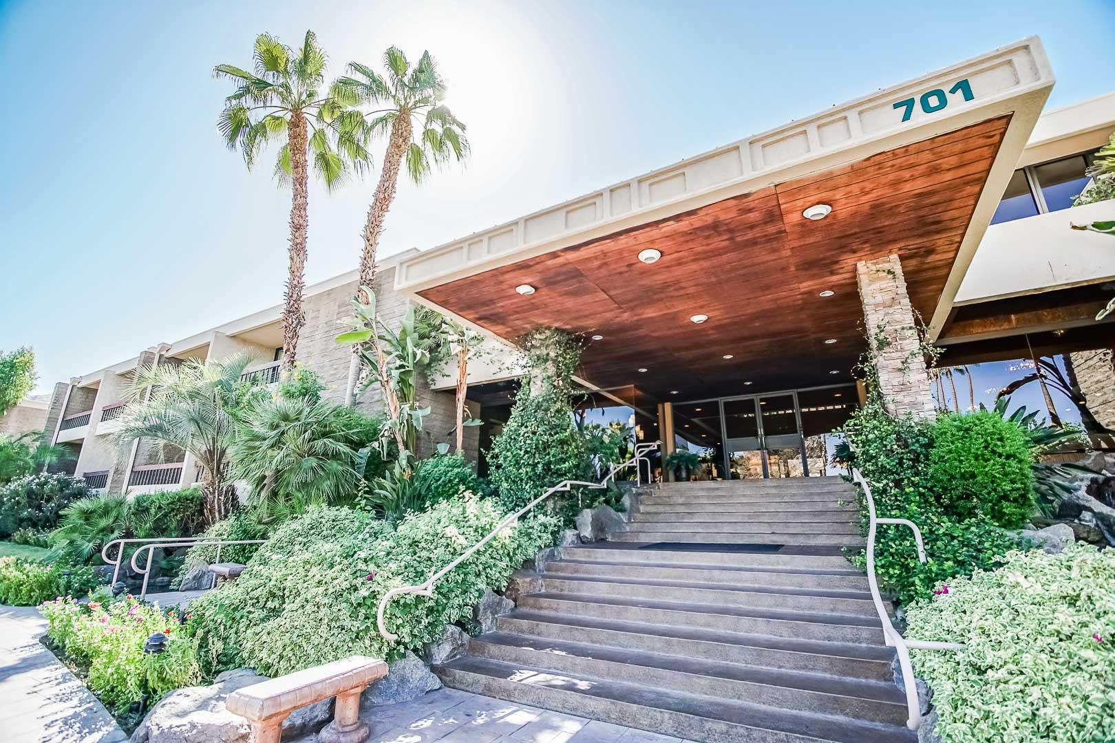 Palm Springs Tennis Club Entrance