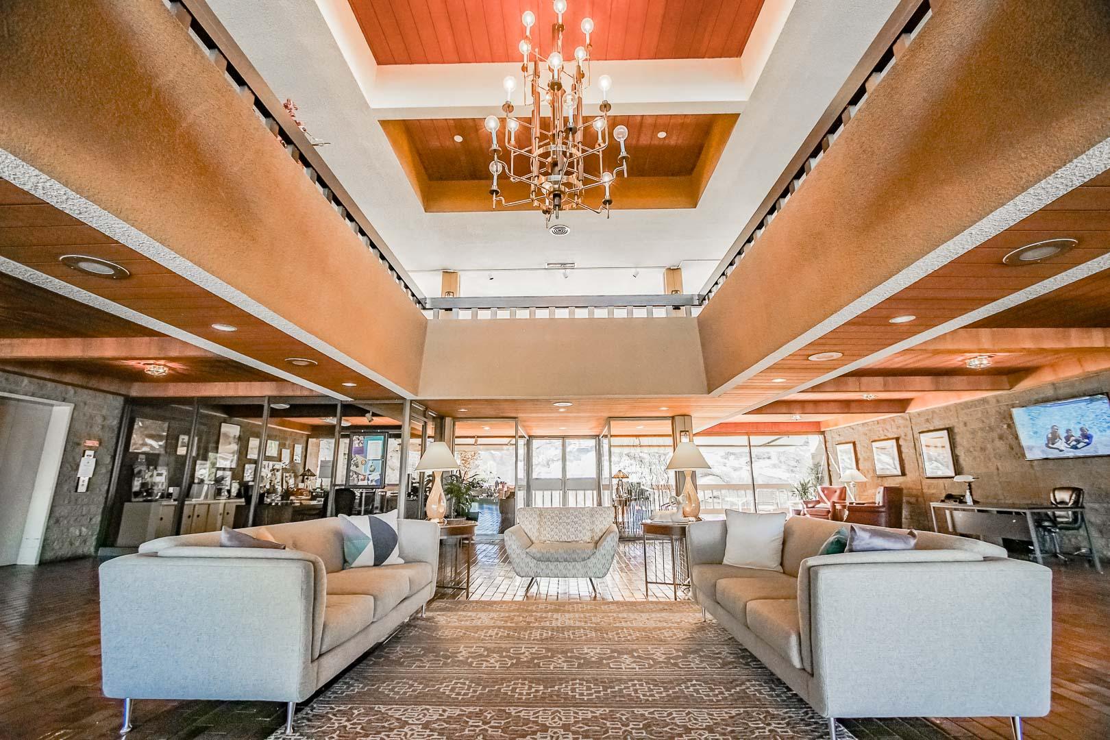 Palm Springs Tennis Club Lobby Area