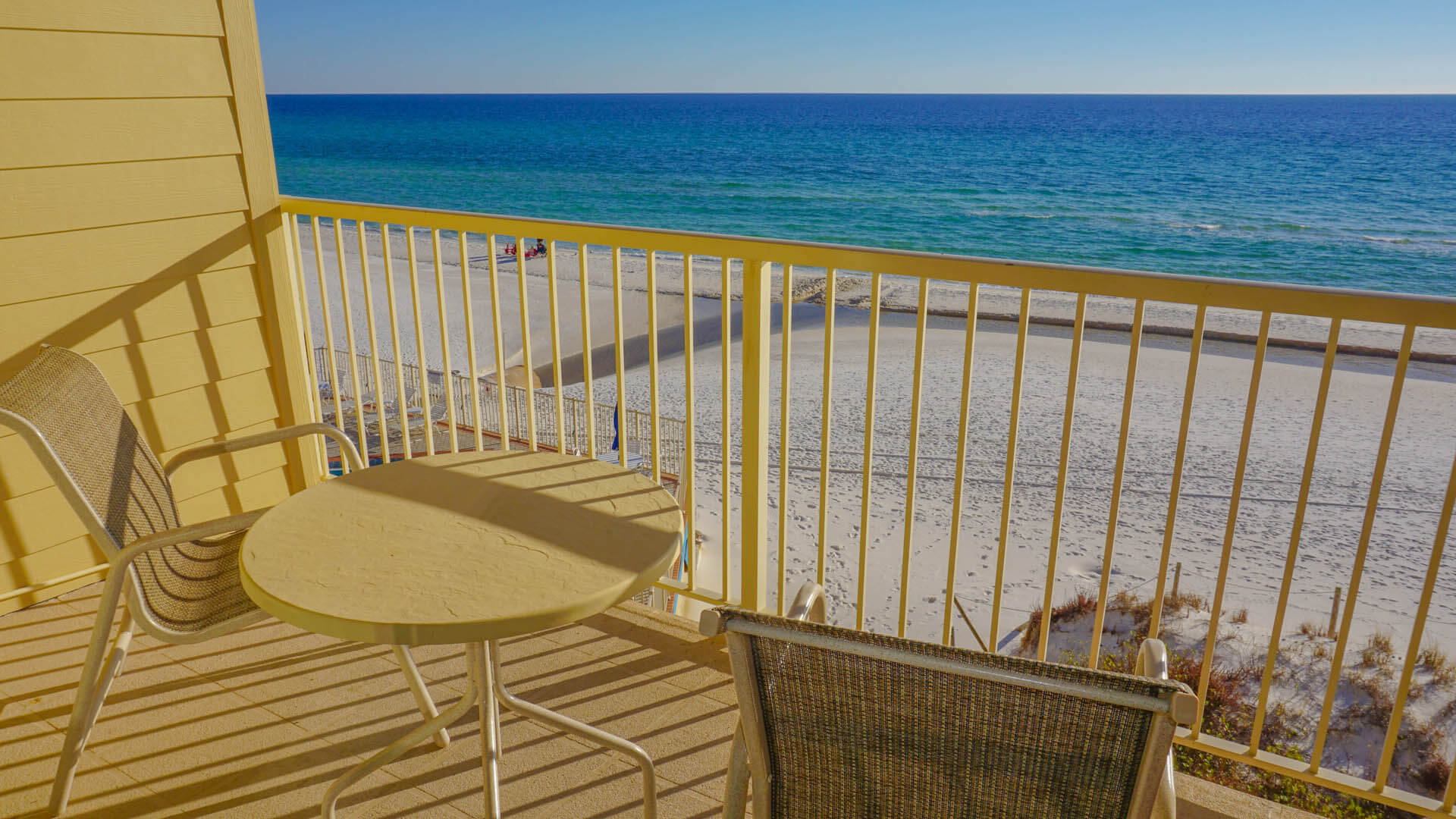 Panama City Resort Club Balcony