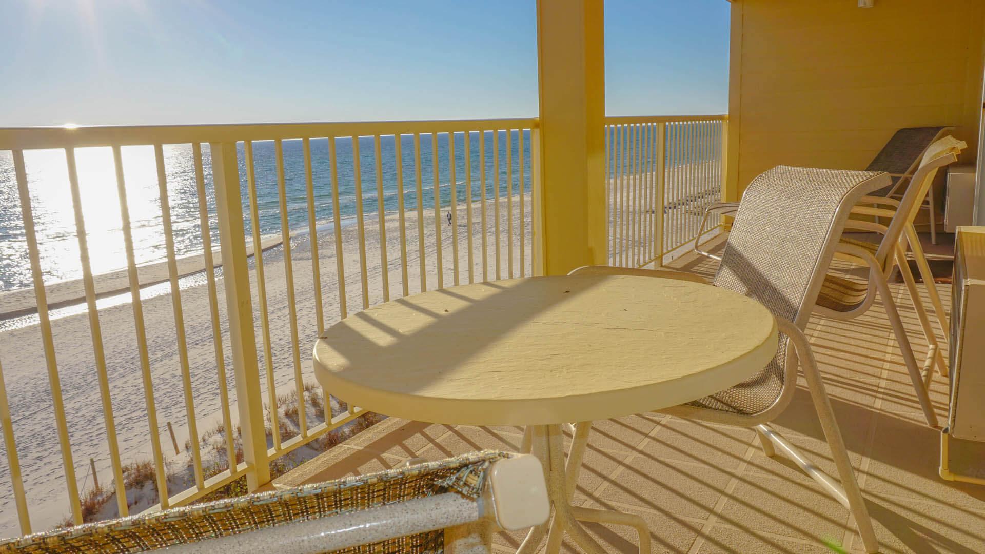 Panama City Resort Club Balcony