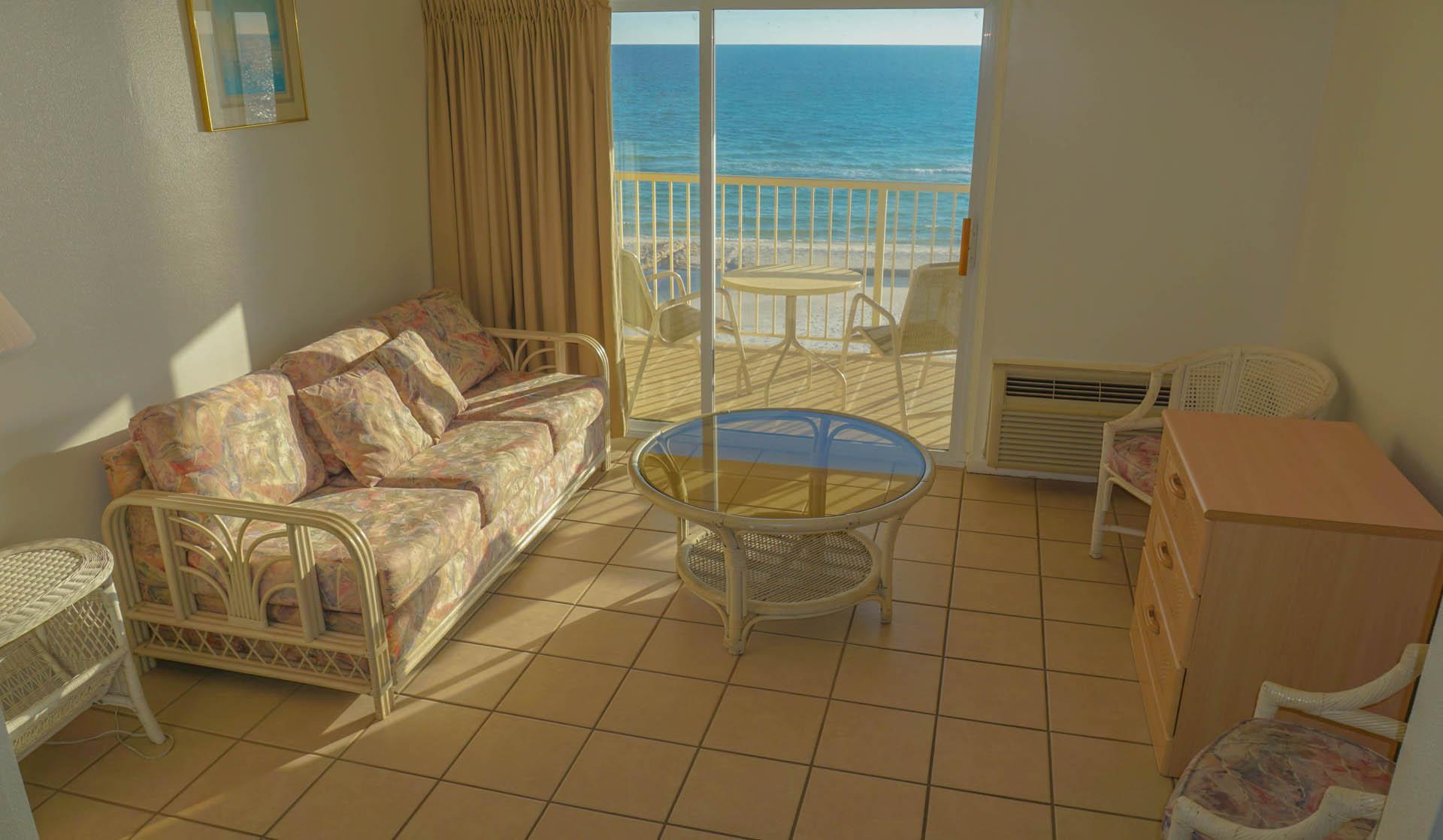 Panama City Resort Club Living Room