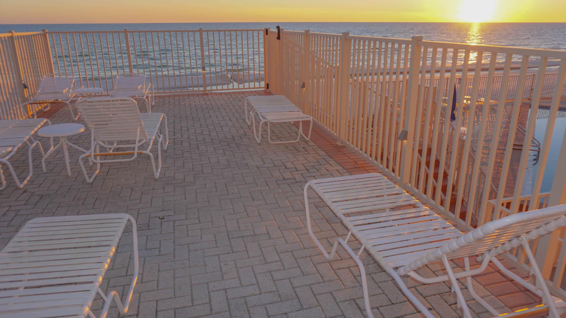 Panama City Resort Club Deck