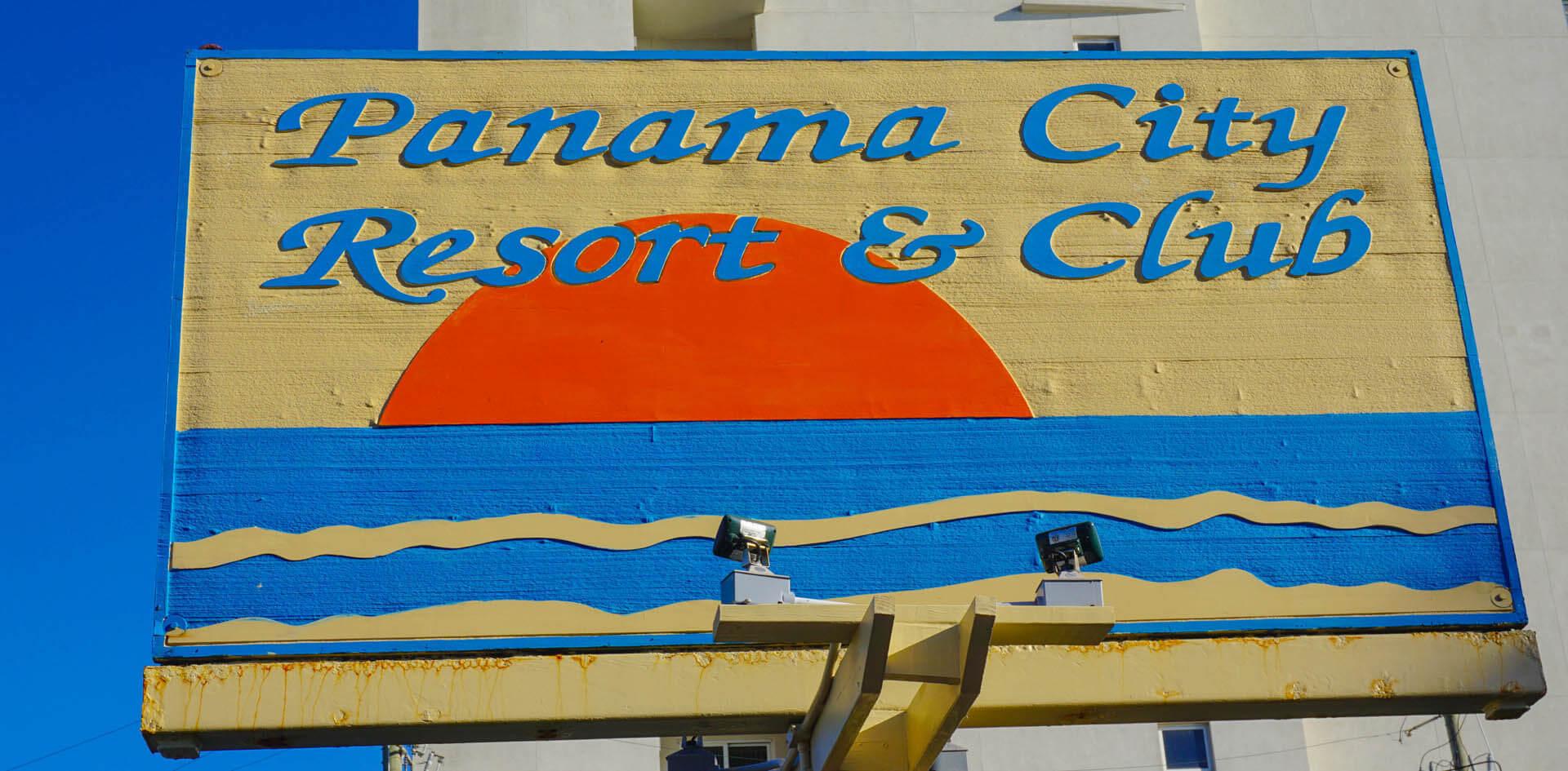 Panama City Resort Club Signage