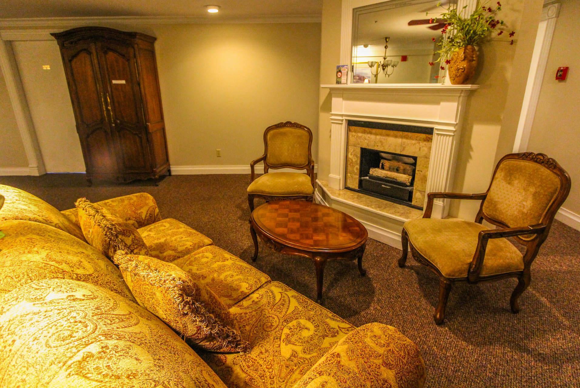 Park Hotel Living Room