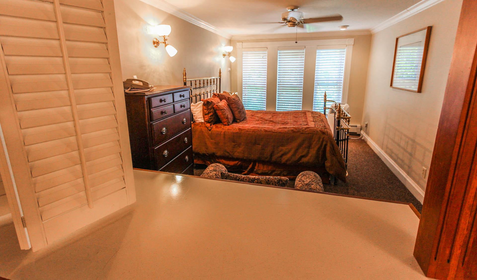 Park Hotel Bedroom