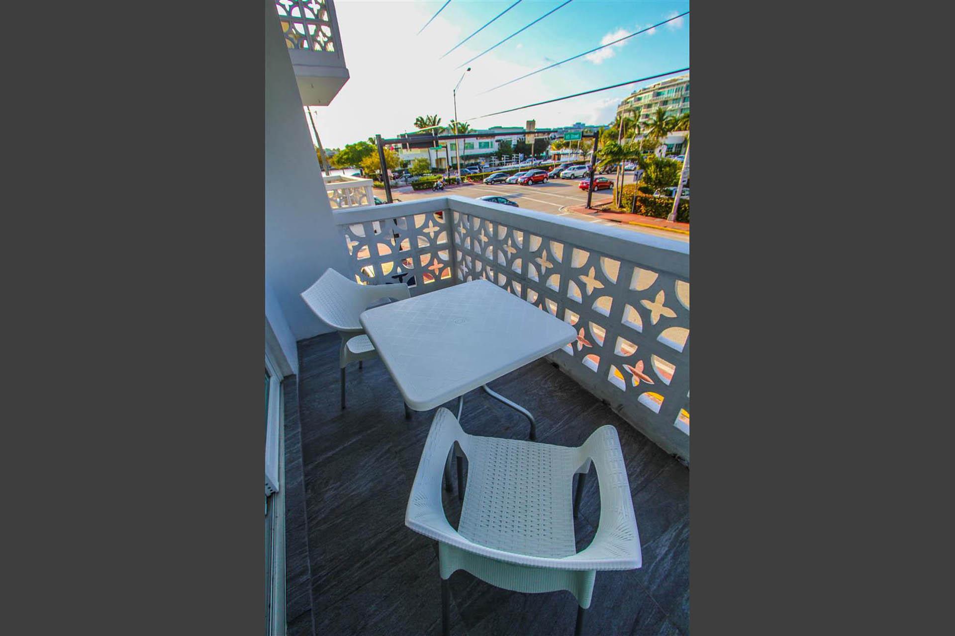 Park Royal Miami Balcony