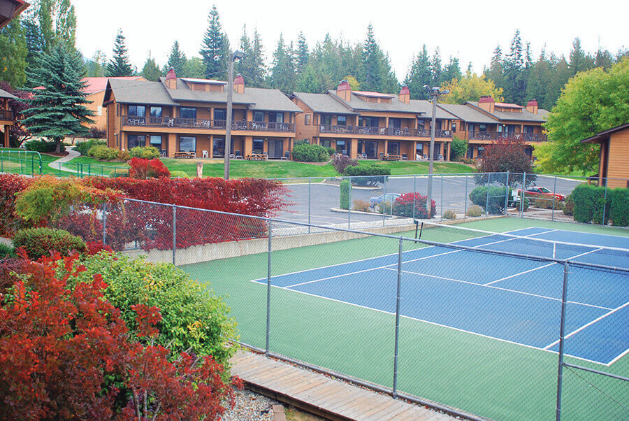 Pend Oreille Shores Resort Tennis Court