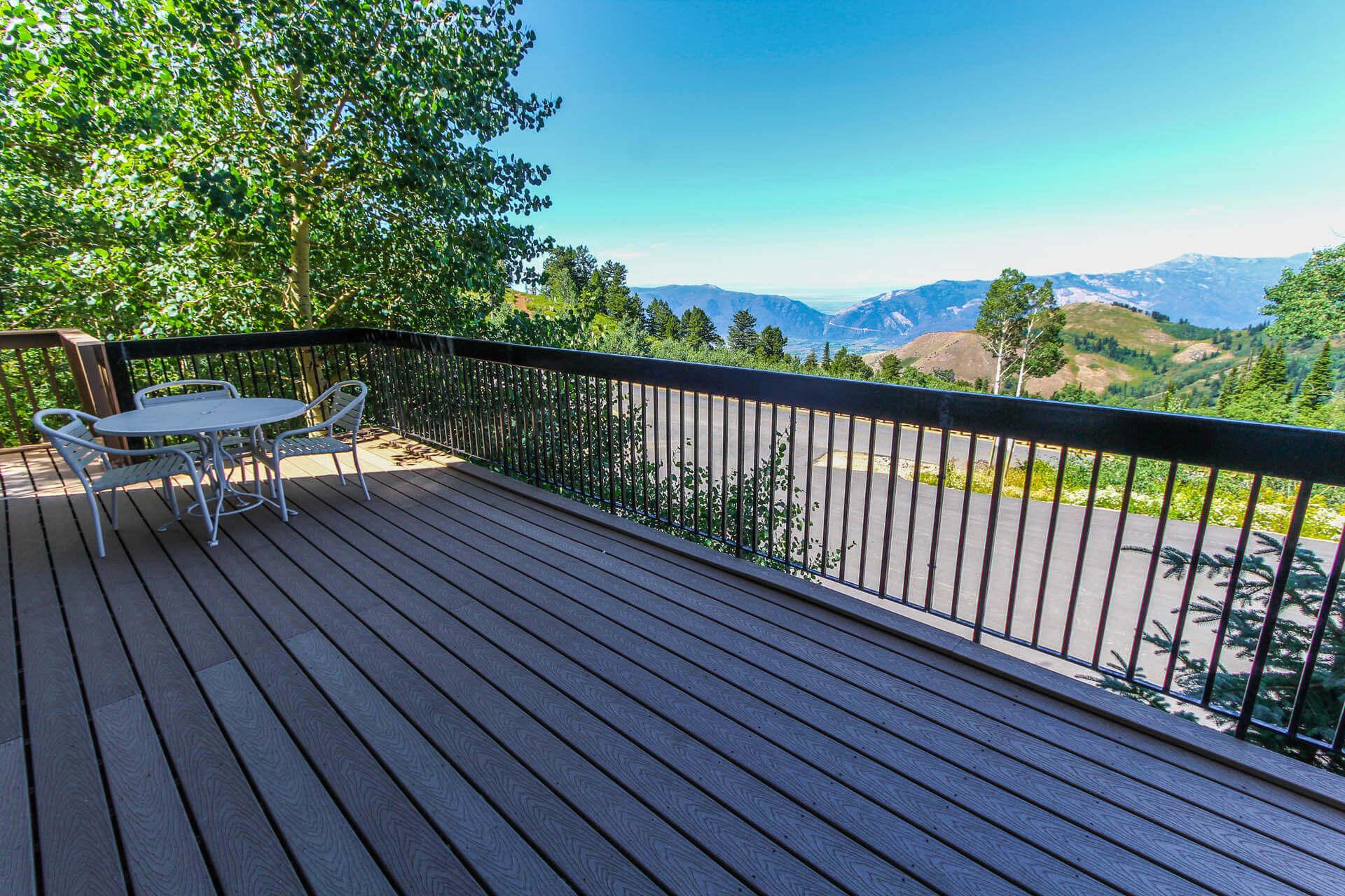 Powder Ridge Villiage Balcony