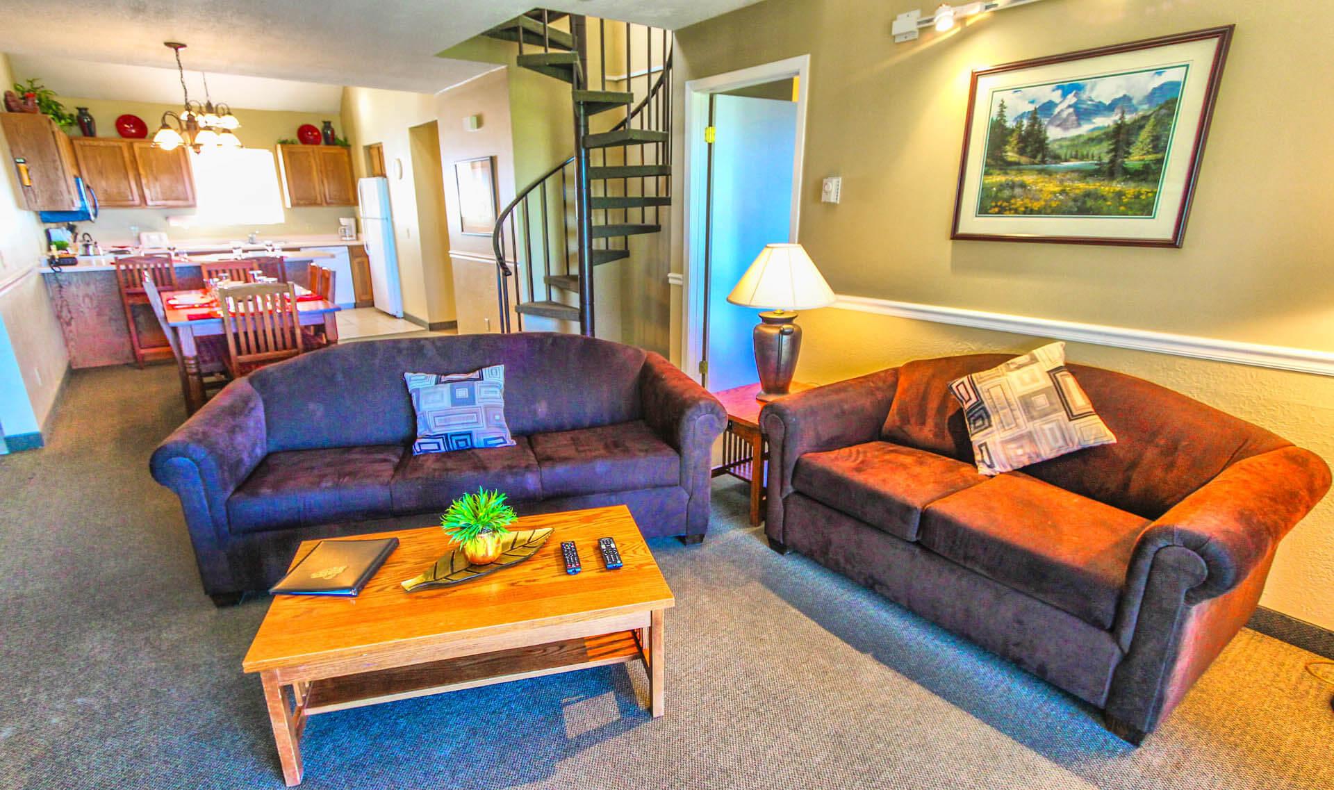 Powder Ridge Villiage Living Room
