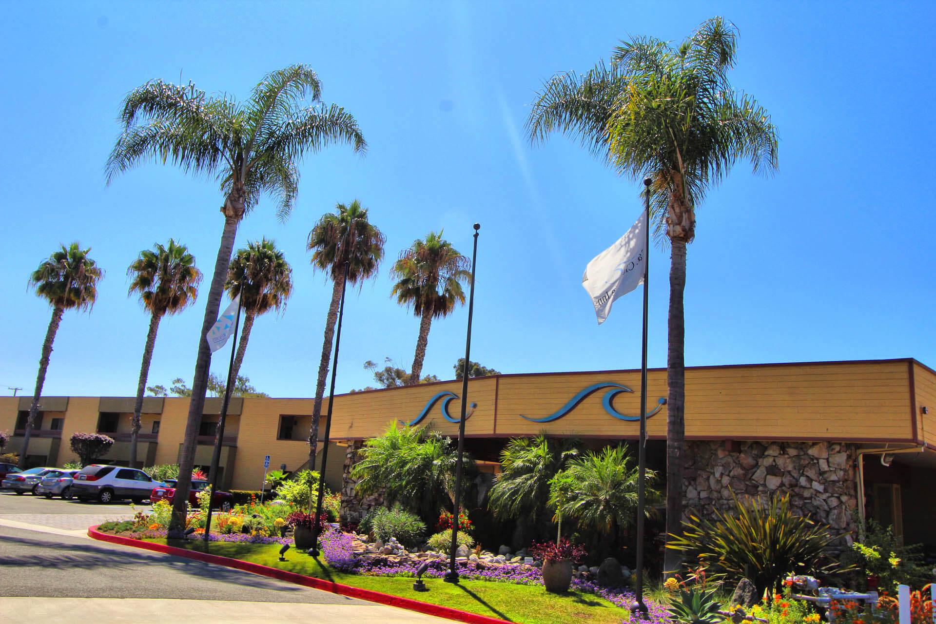 San Clemente Inn Common Area