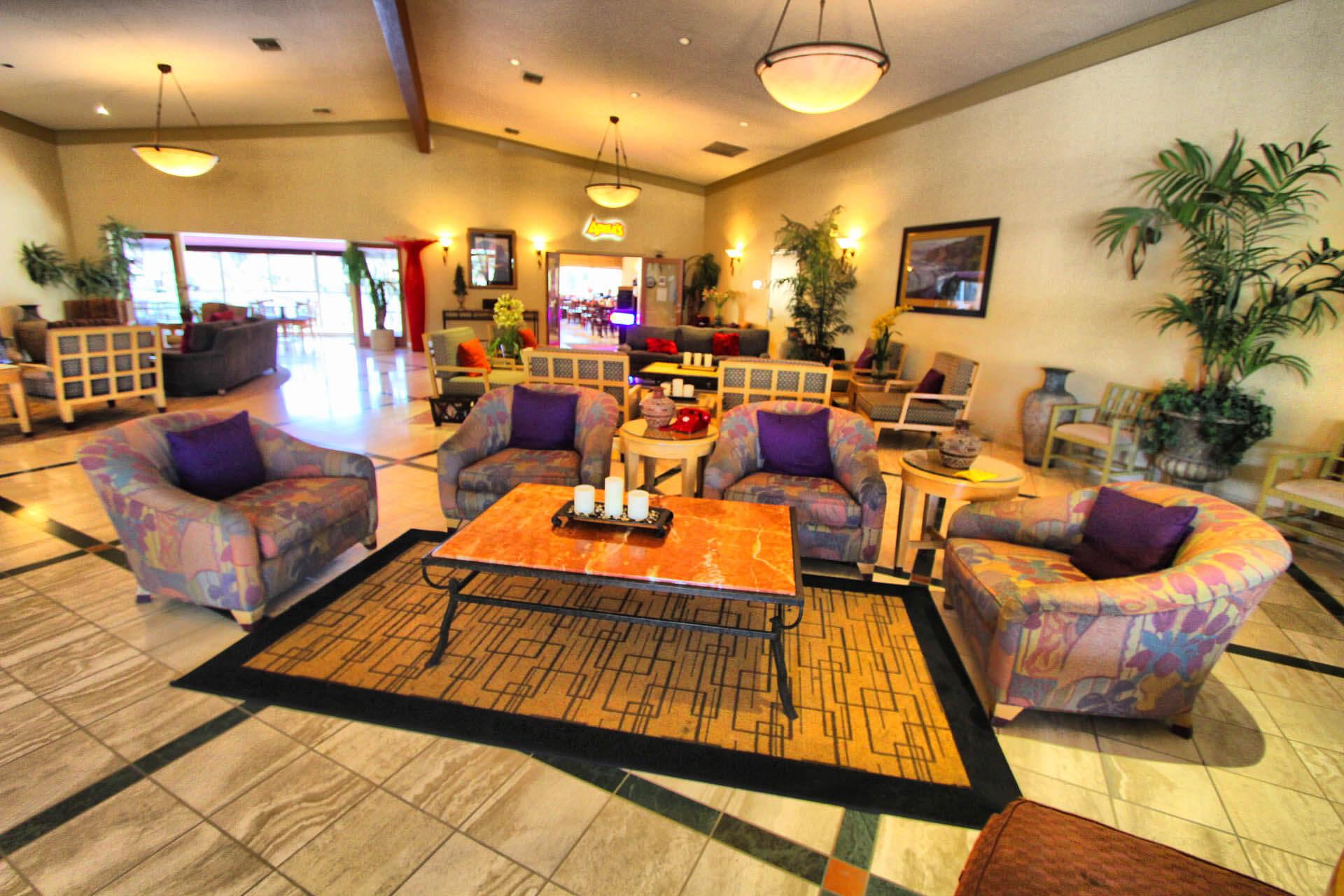 San Clemente Inn Lobby