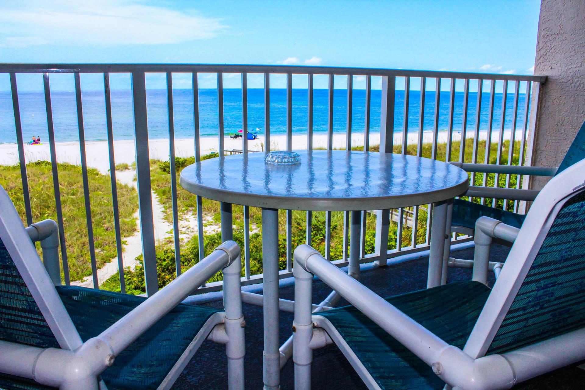Sand Pebble Balcony