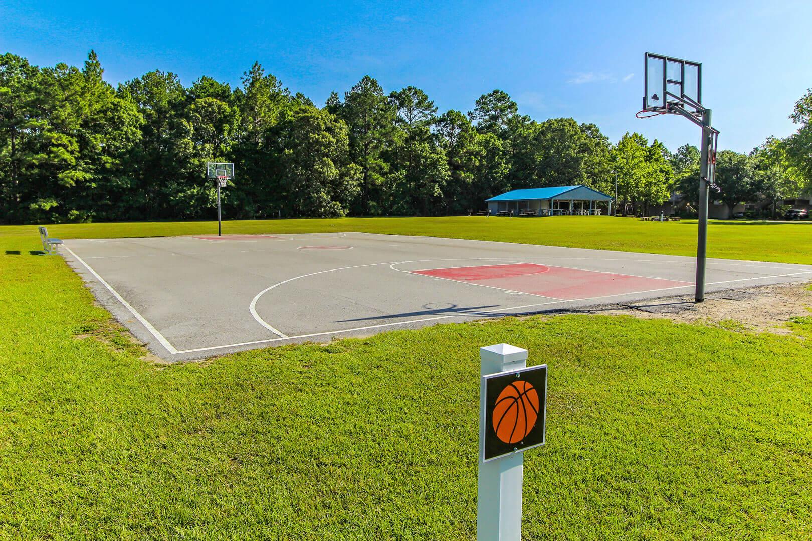 Sandcastle Cove Basketball Court