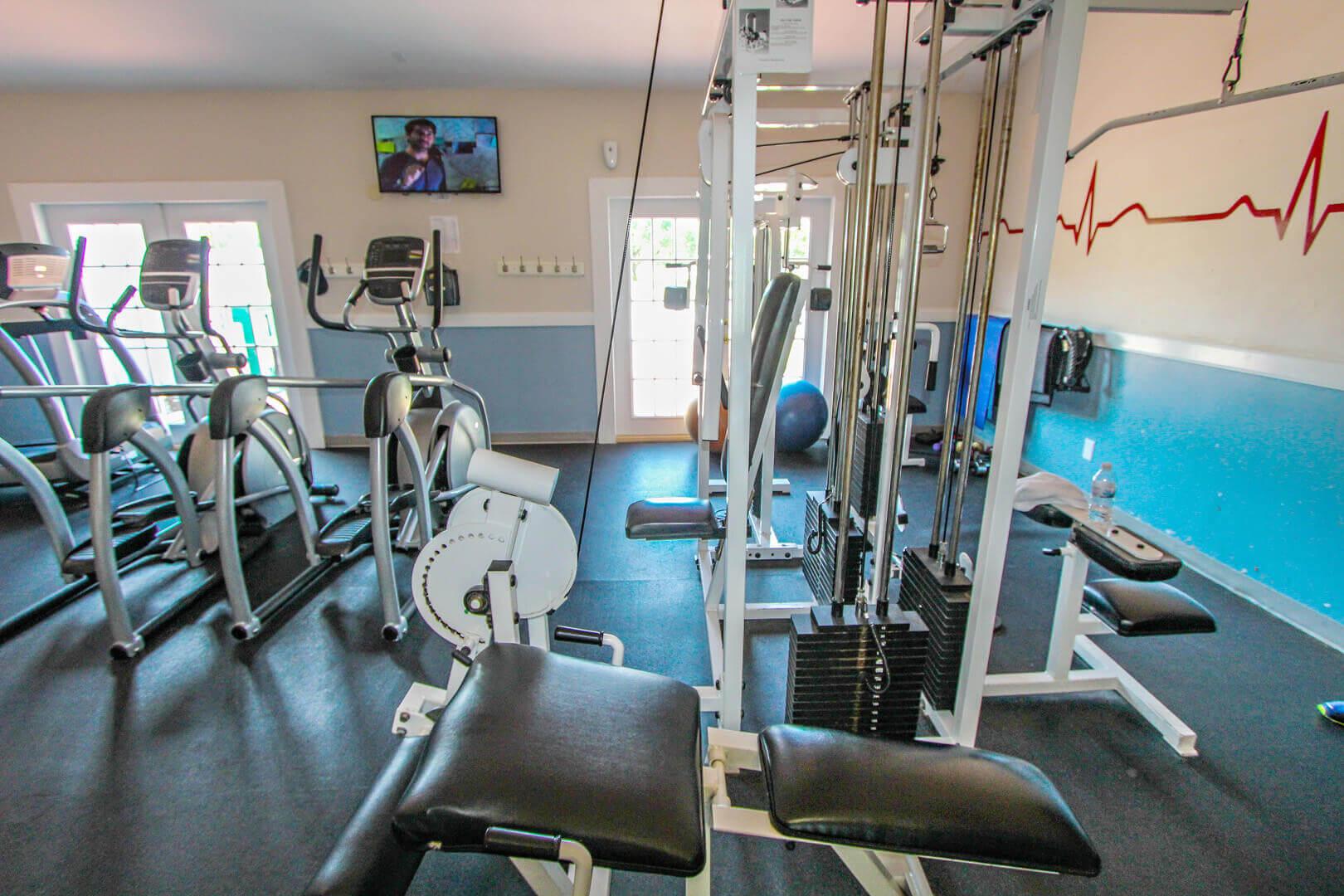 Sandcastle Cove Gym