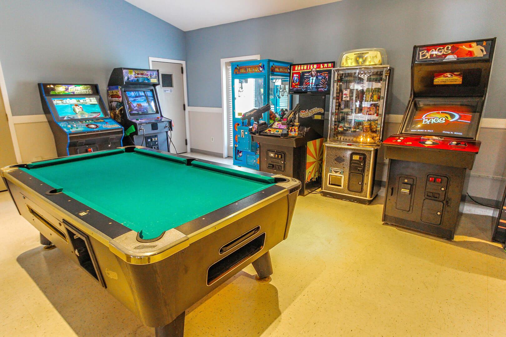 Sandcastle Cove Game Room