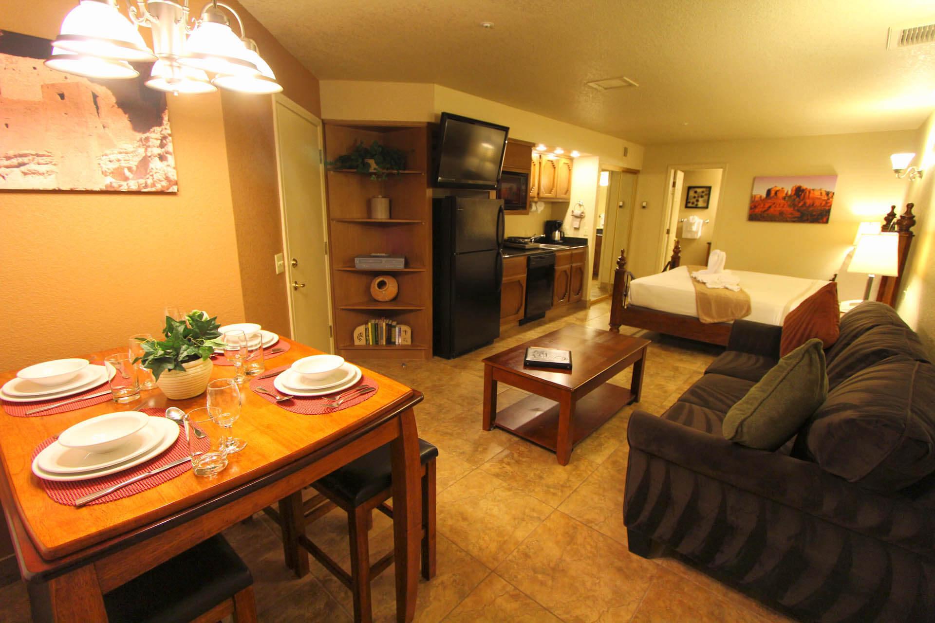 Sedona Springs Resort Living Room