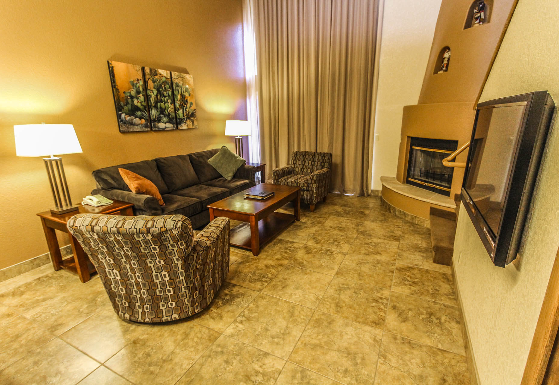 Sedona Springs Resort Living Room