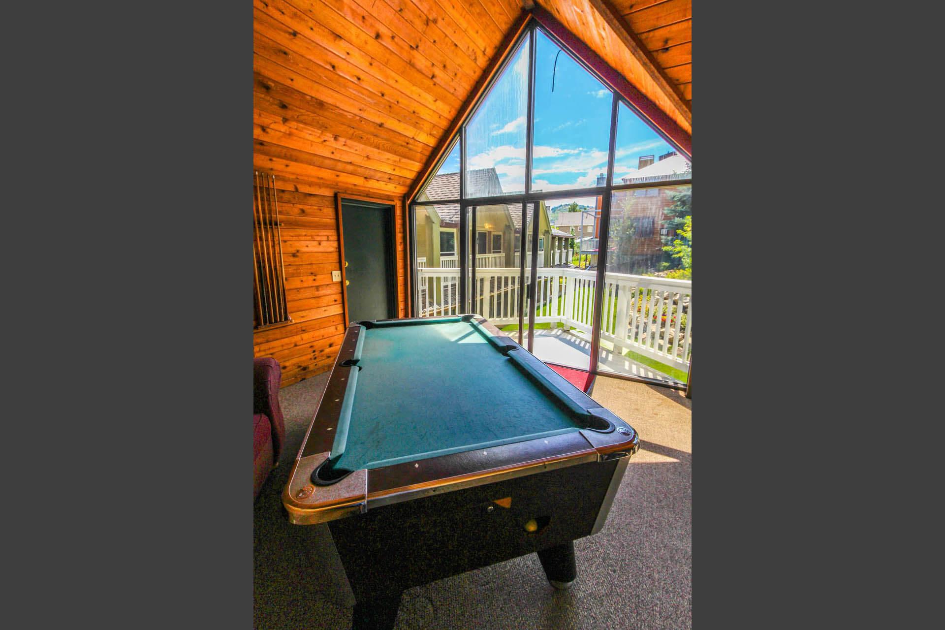 Skiers Lodge Game Room