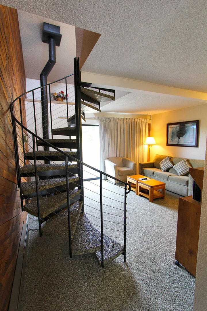 Surfcrest Condominiums Living Room