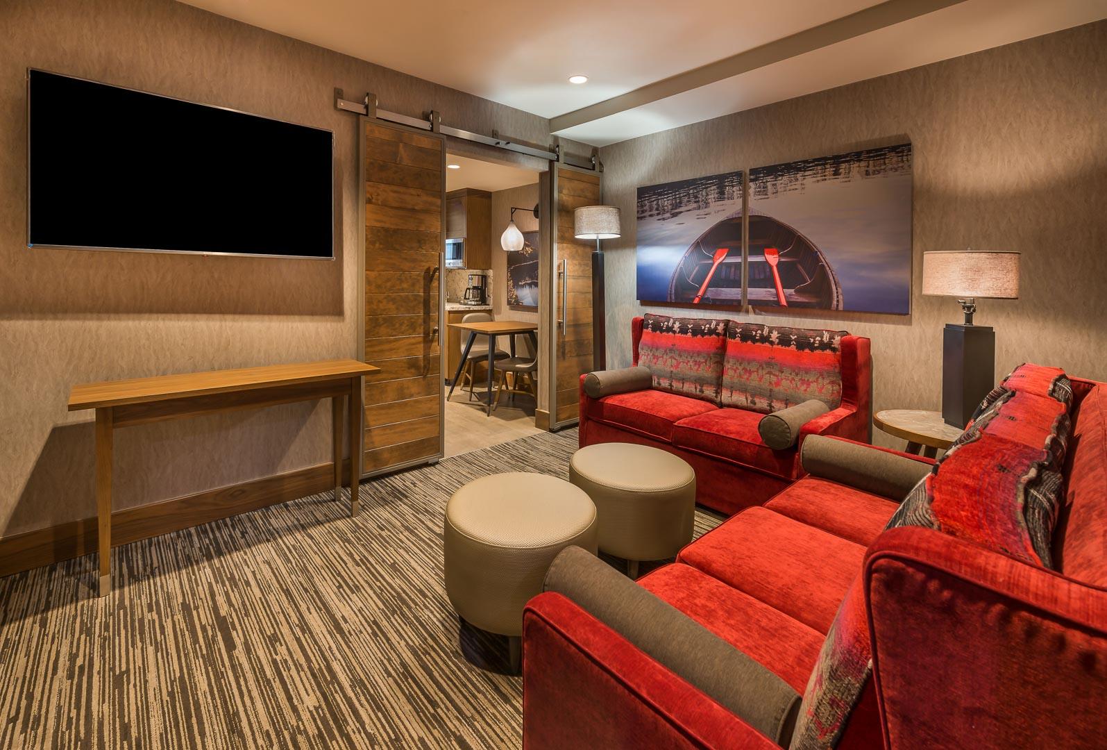 Tahoe Seasons Resort Living Room