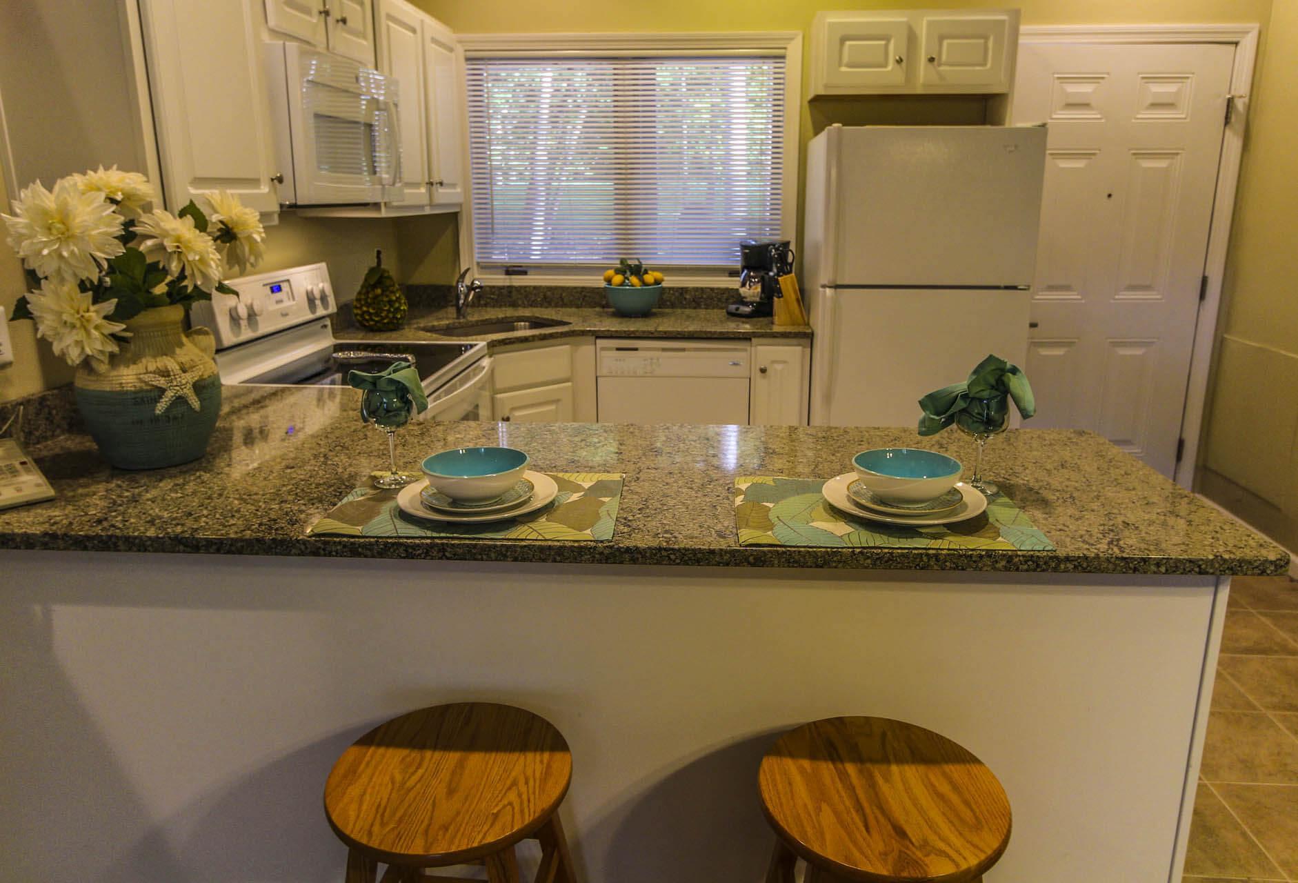 Tanglewood Resort Kitchen