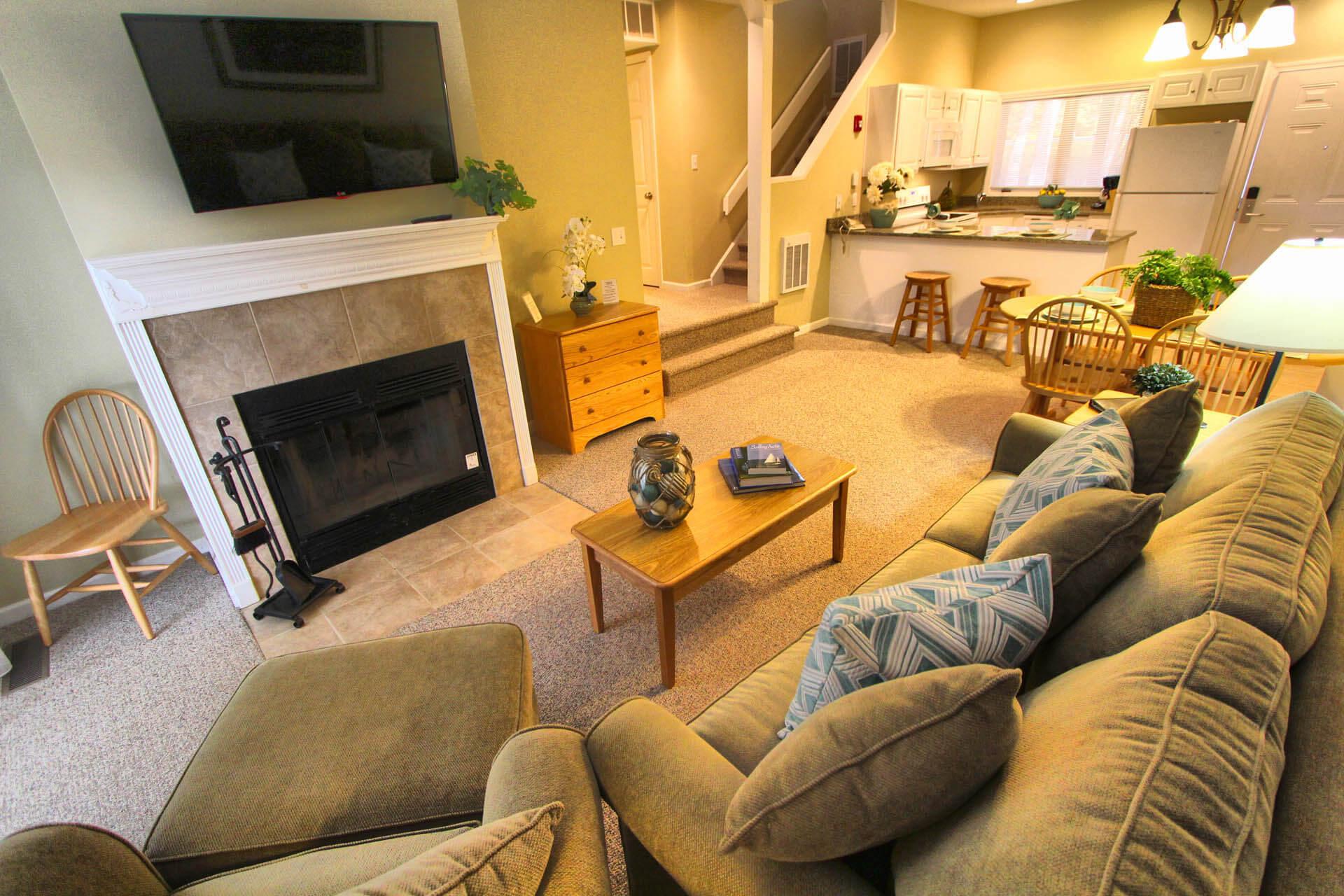 Tanglewood Resort Living Room
