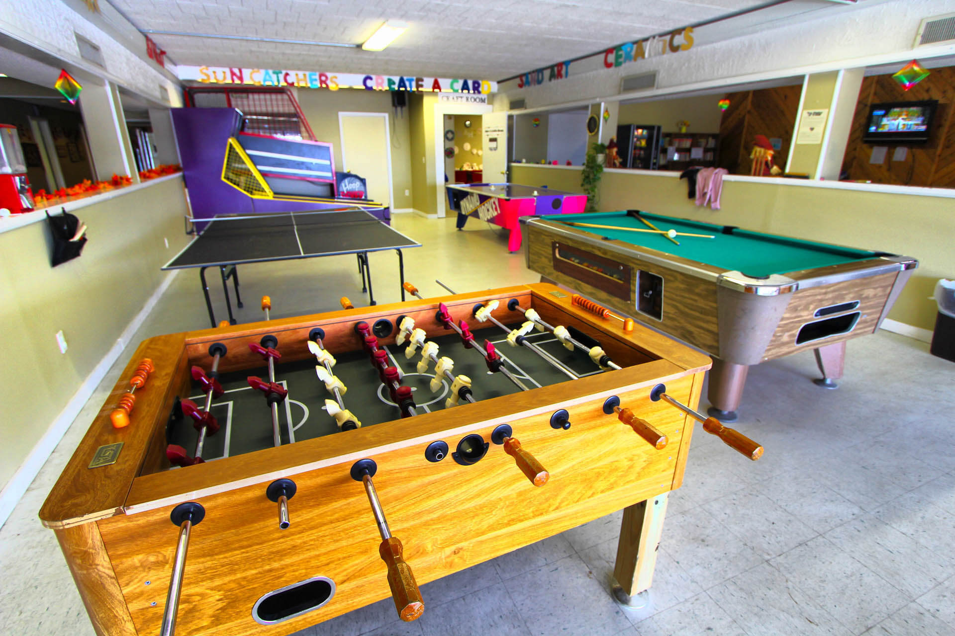 Tanglewood Resort Game Room