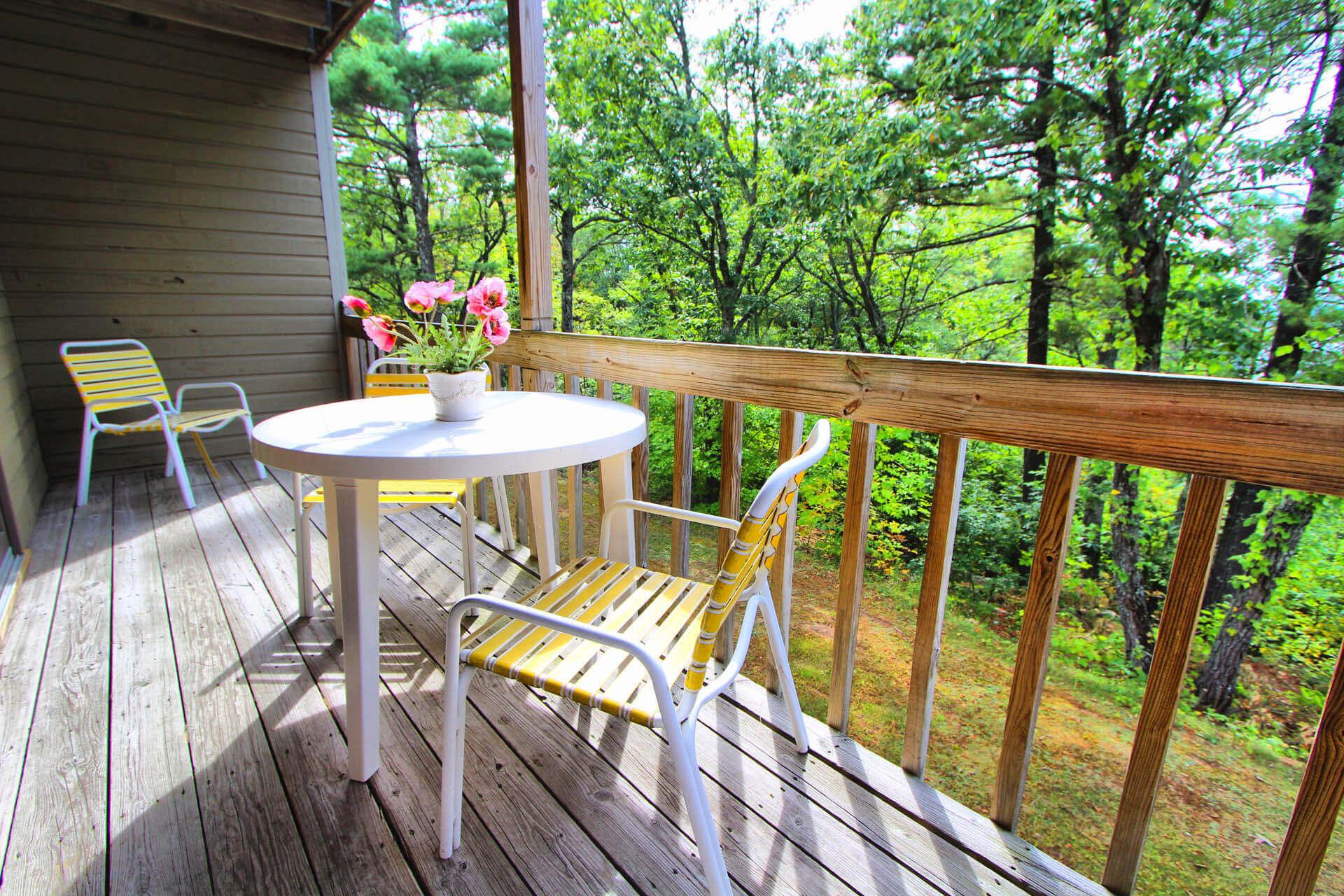 Tanglewood Resort Balcony