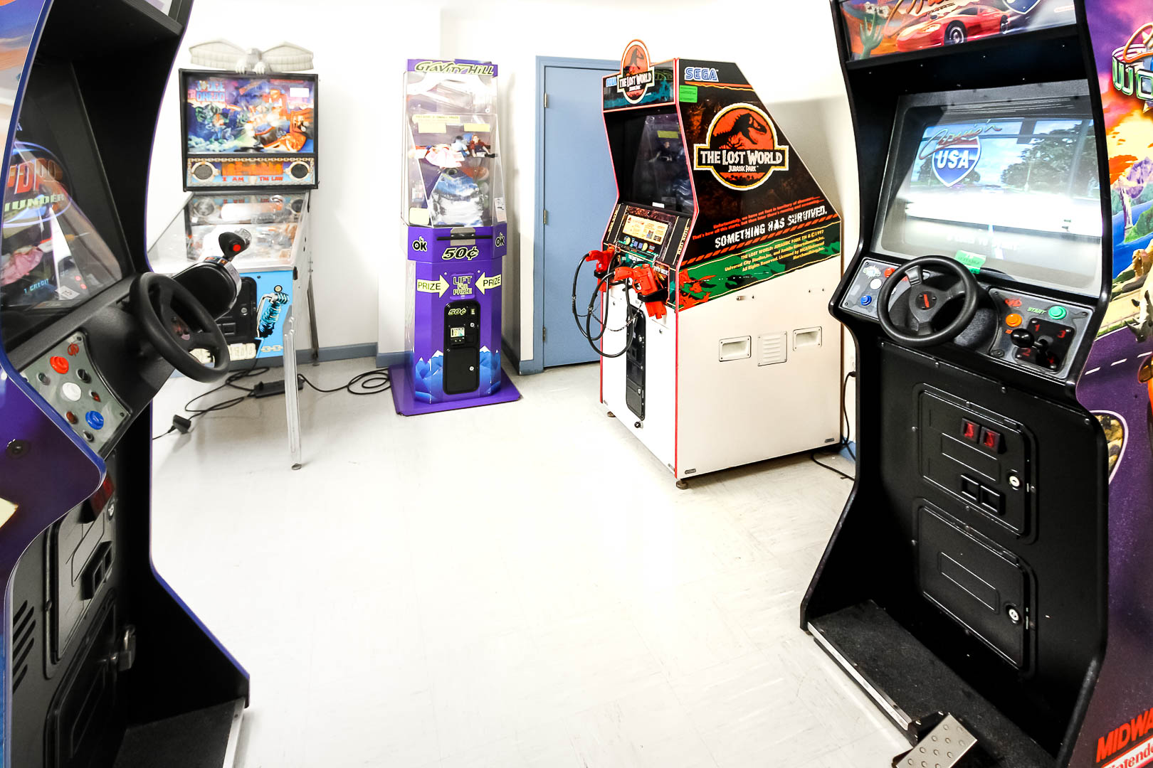 A fully equipped Game room at VRI's The Cove at Yarmouth in Massachusetts.