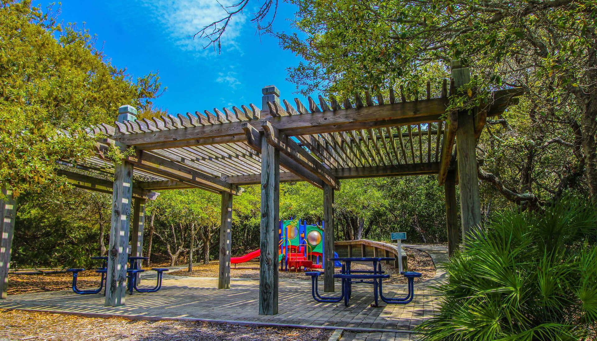 The Hammocks Bald Head Island Playground