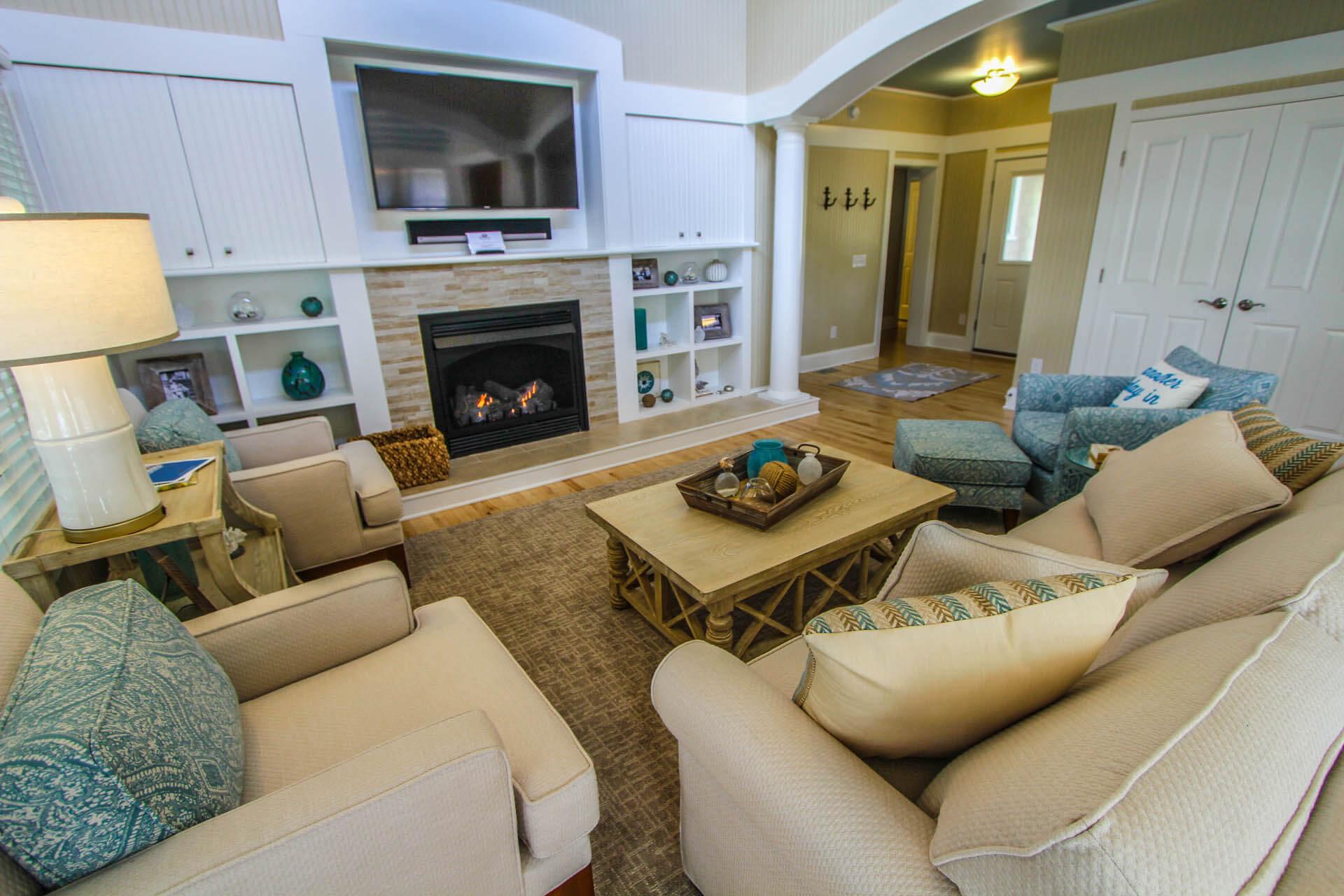 The Hammocks Bald Head Island Living Room