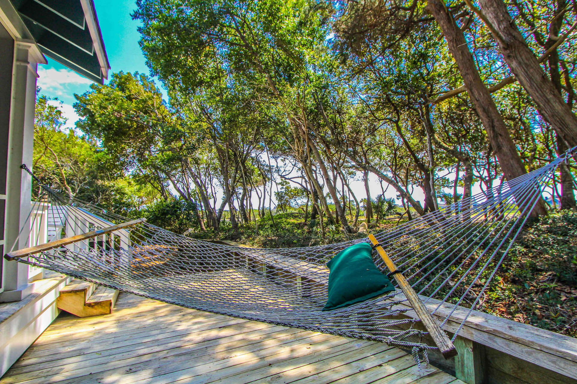 The Hammocks Bald Head Island Balcony
