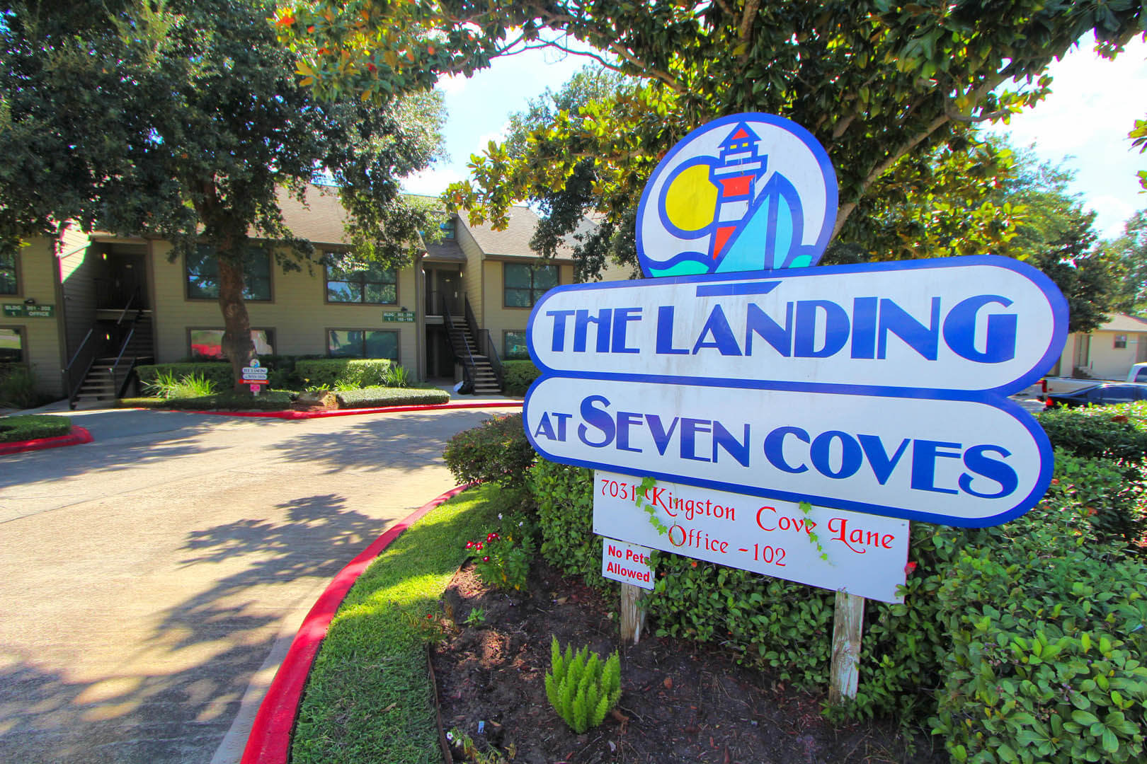 The Landing At Seven Coves Signage