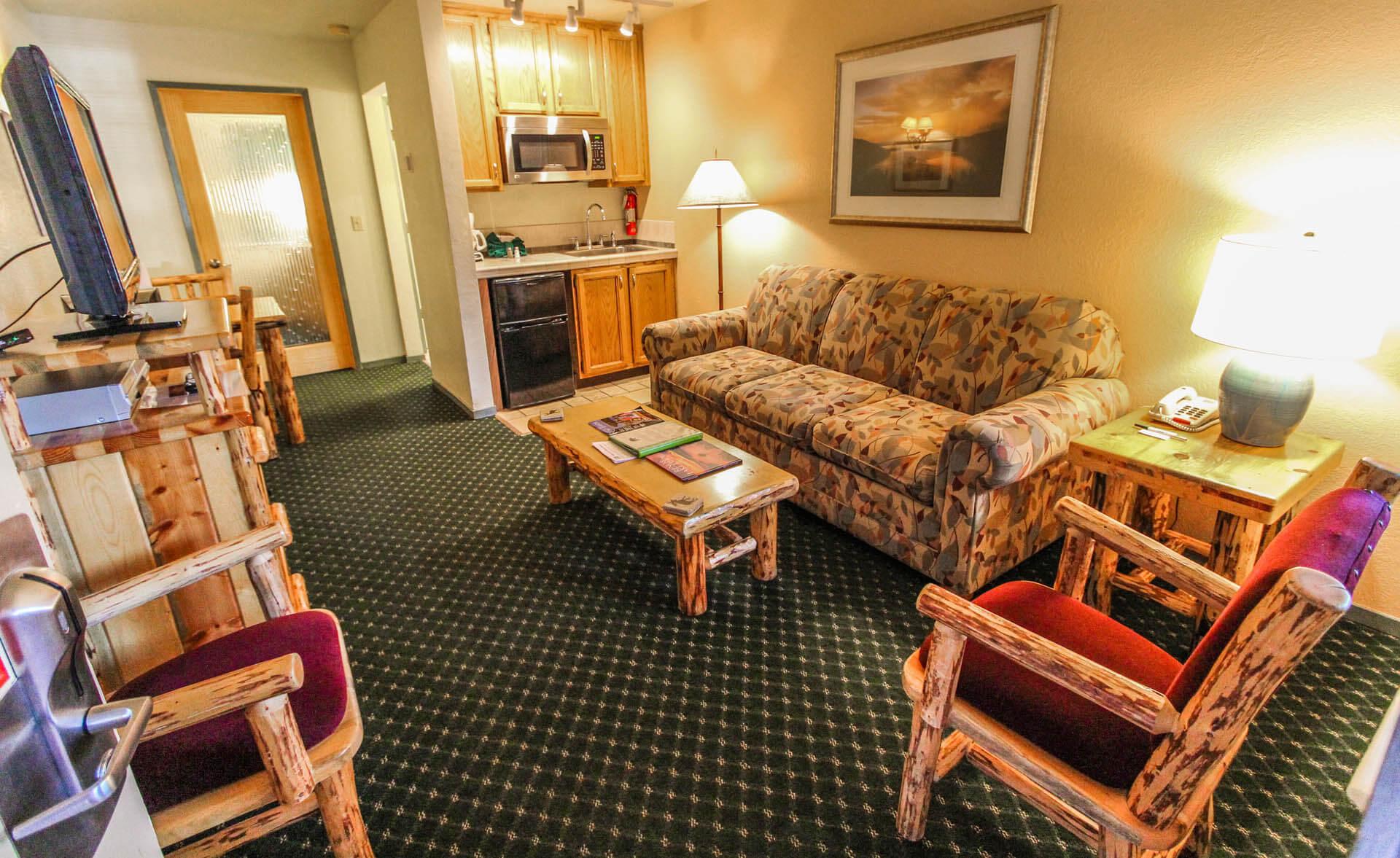 The Lodge At Lake Tahoe Living Room