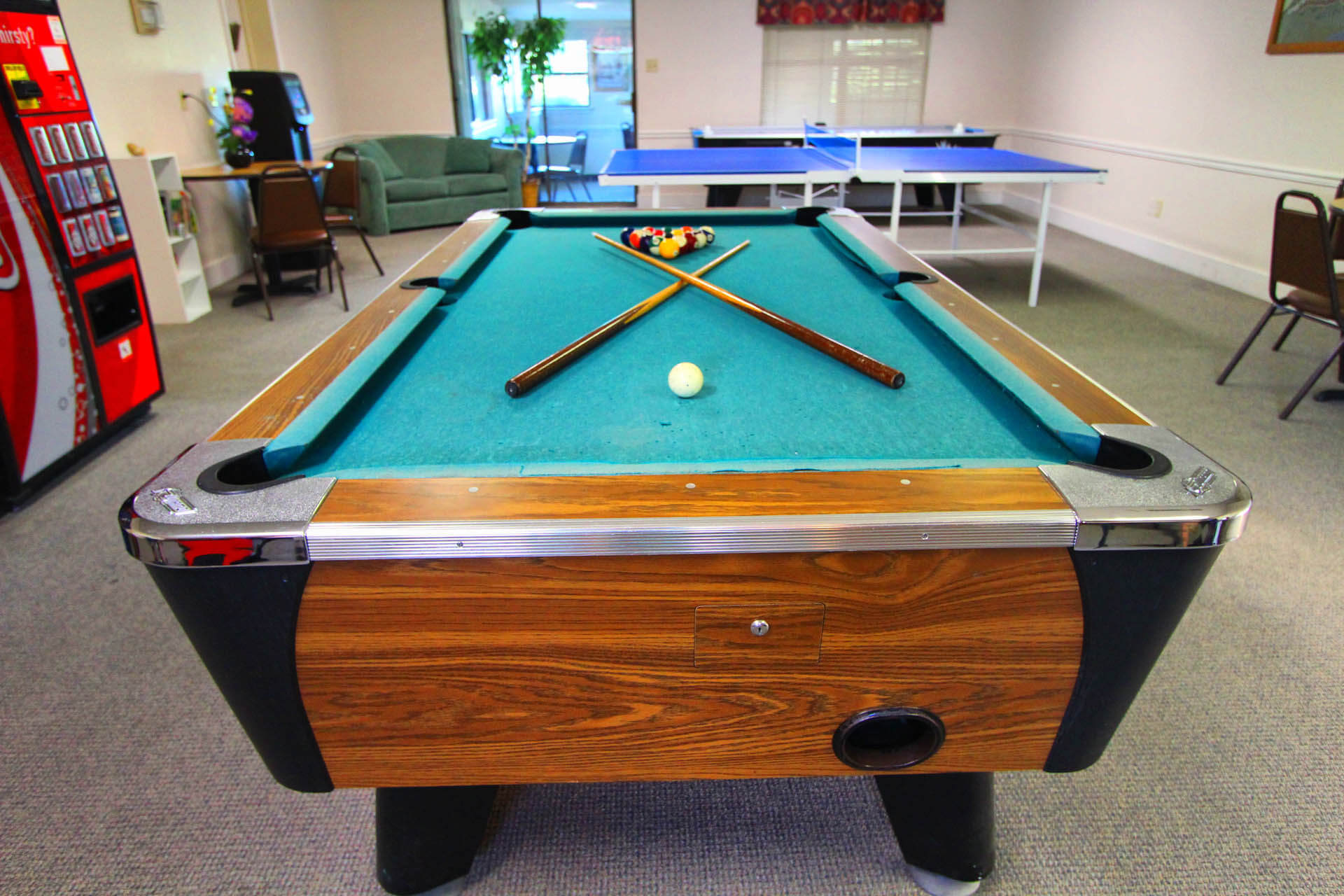 The Shores Lake Travis Game Room