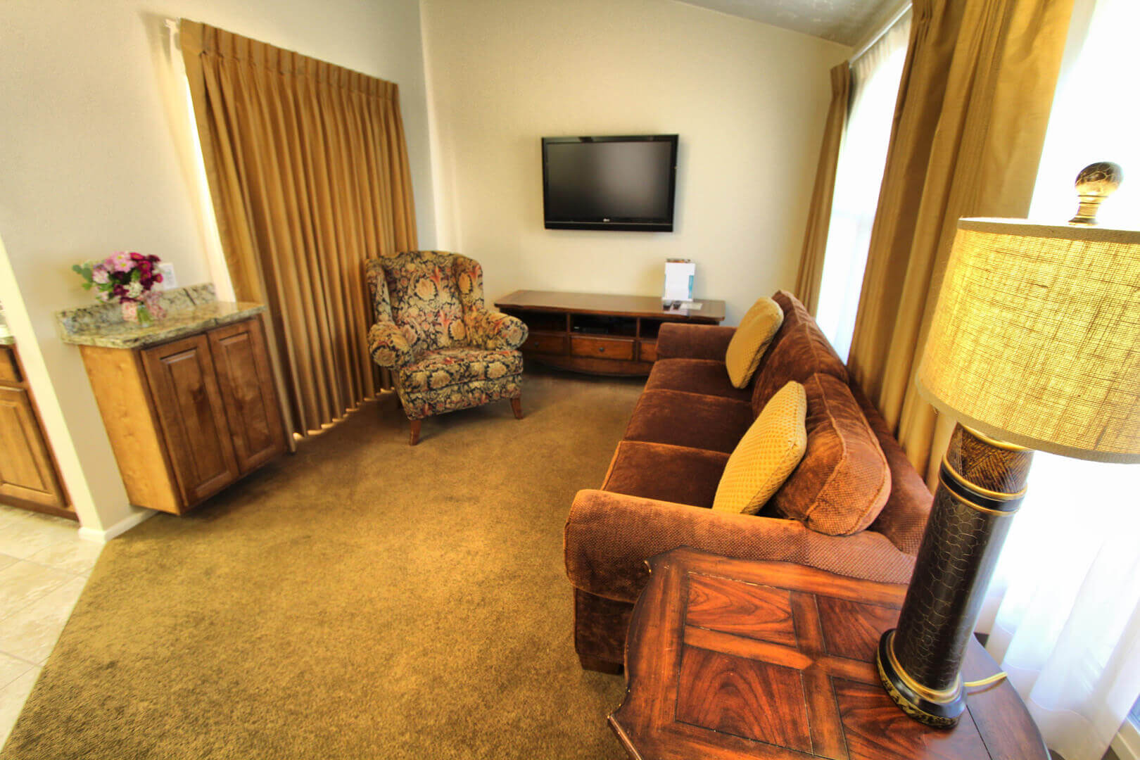 Villas At Southgate Living Room